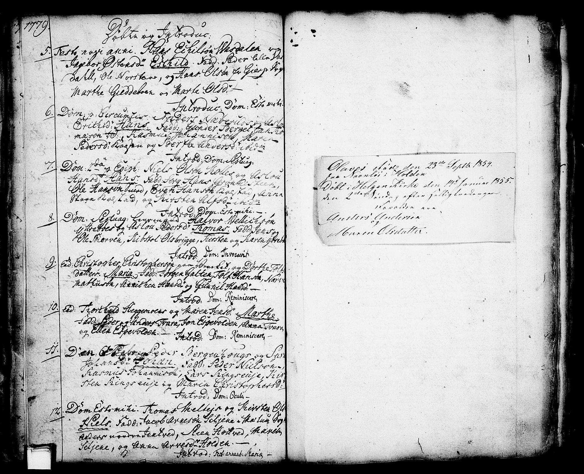 SAKO, Holla kirkebøker, F/Fa/L0001: Ministerialbok nr. 1, 1717-1779, s. 148