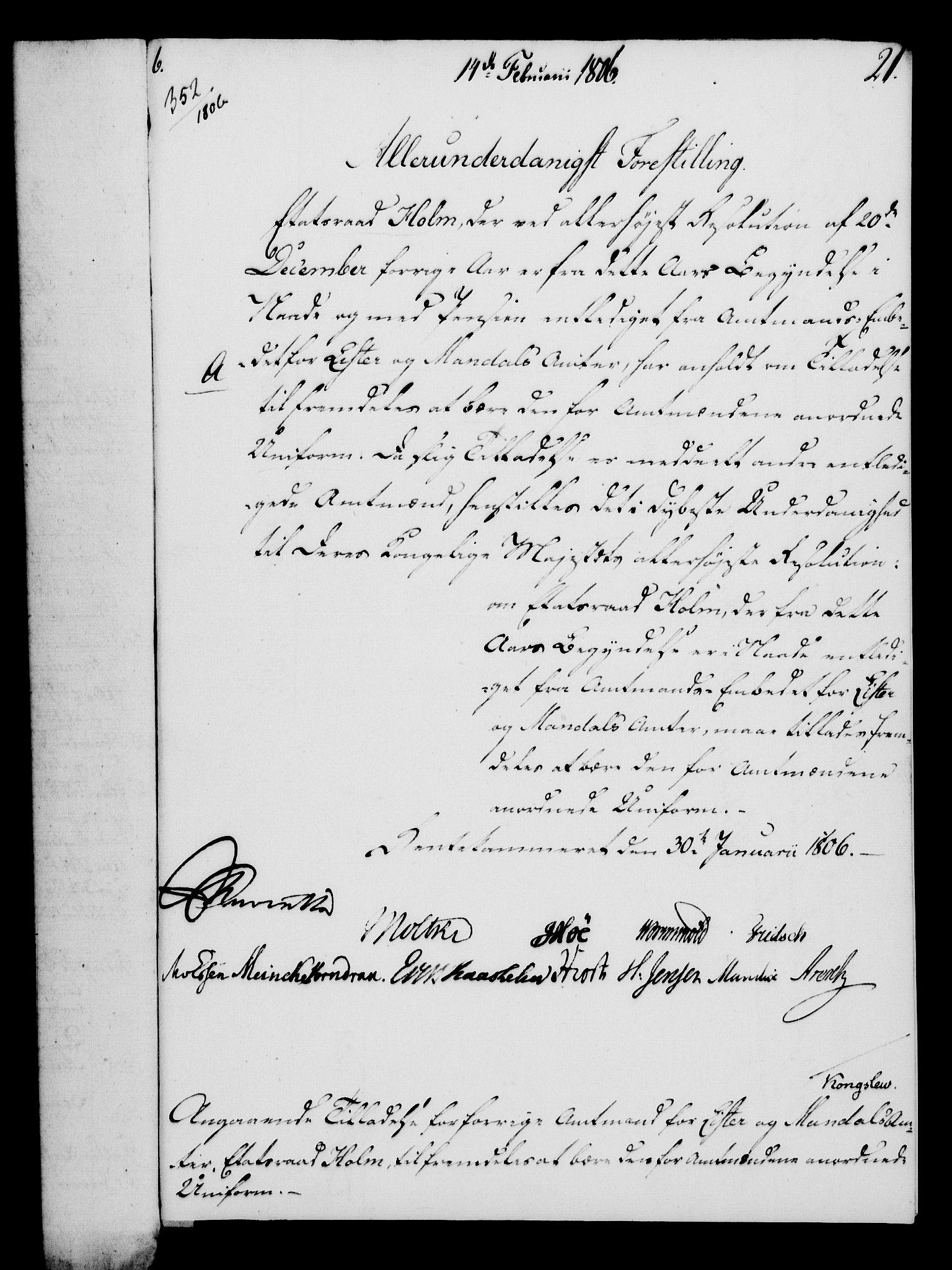 RA, Rentekammeret, Kammerkanselliet, G/Gf/Gfa/L0088: Norsk relasjons- og resolusjonsprotokoll (merket RK 52.88), 1806, s. 143