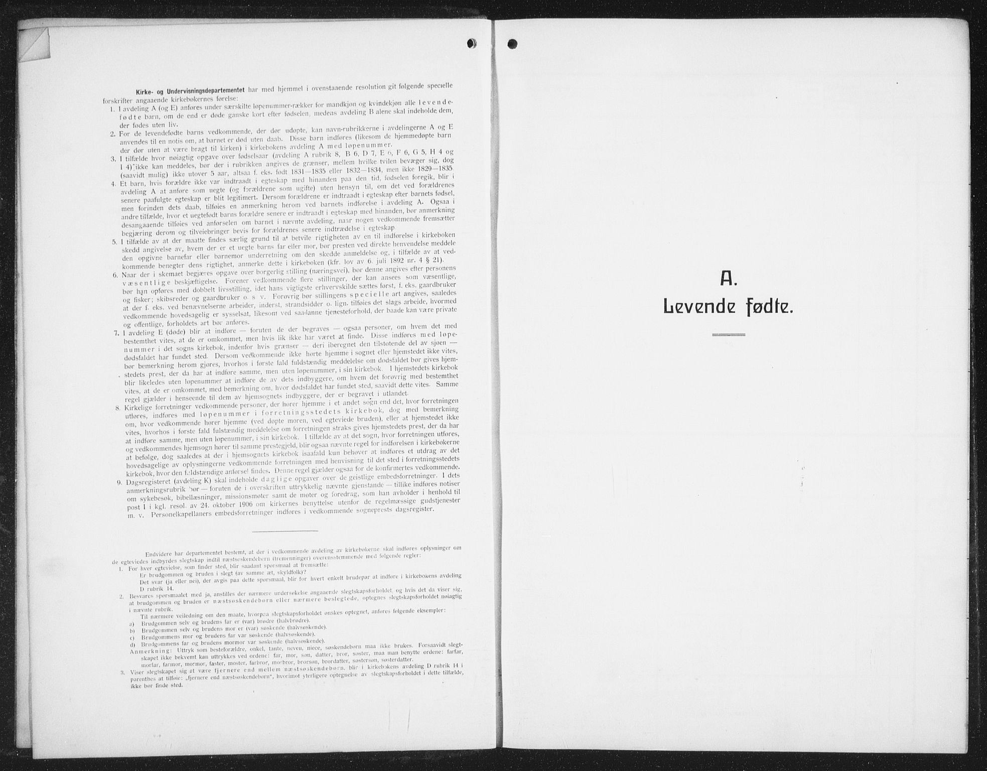 SAT, Ministerialprotokoller, klokkerbøker og fødselsregistre - Nordland, 876/L1106: Klokkerbok nr. 876C05, 1915-1942