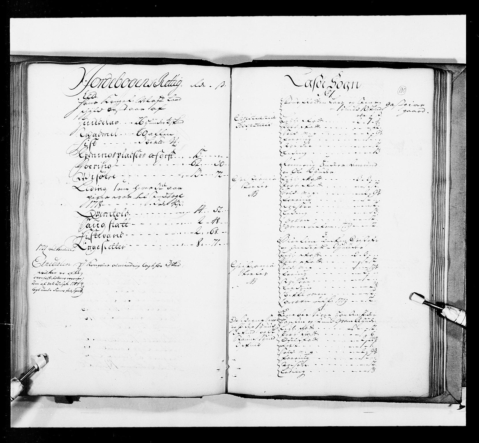 RA, Stattholderembetet 1572-1771, Ek/L0036: Jordebøker 1662-1720:, 1719, s. 99b-100a