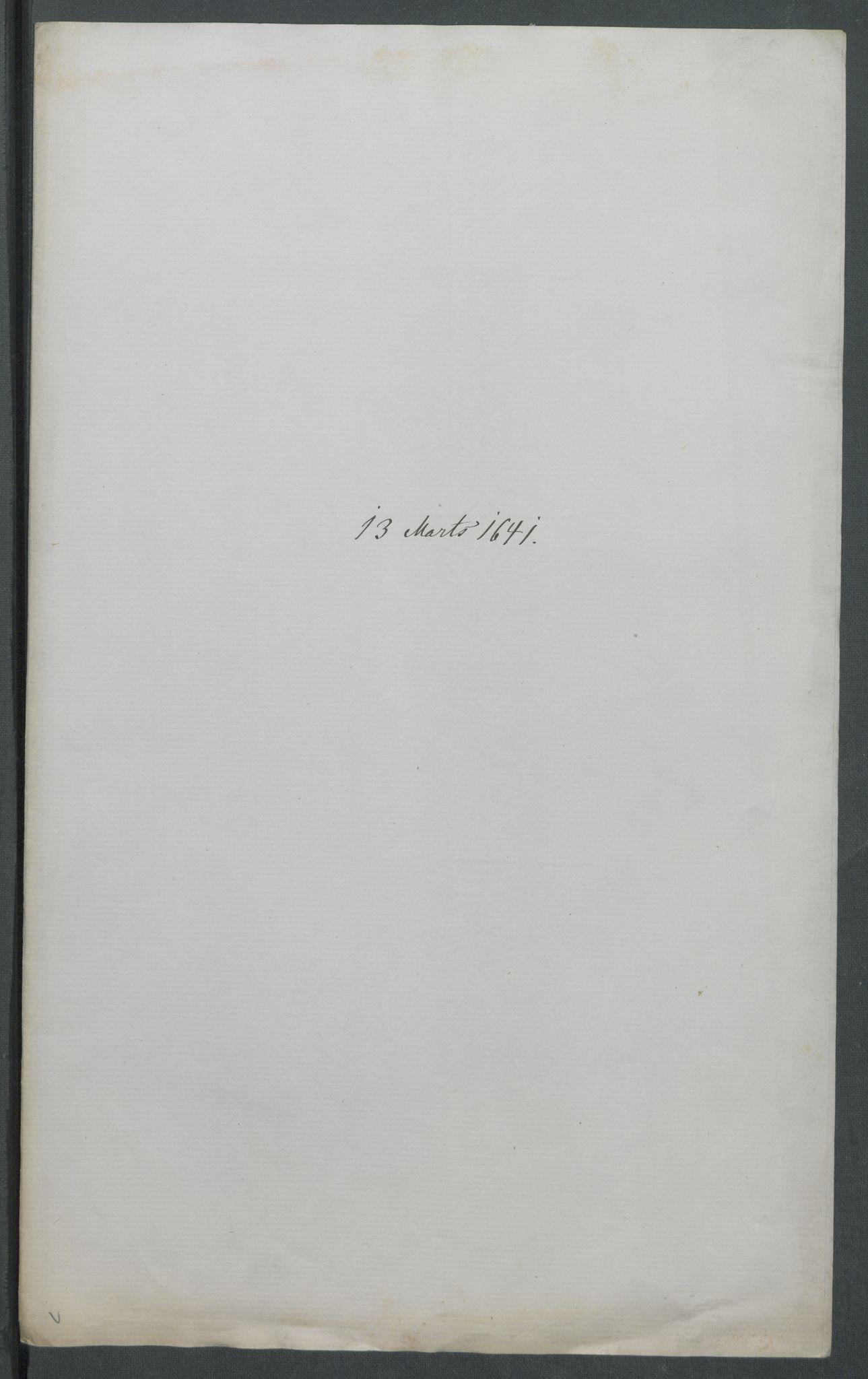 RA, Riksarkivets diplomsamling, F02/L0154: Dokumenter, 1641, s. 12