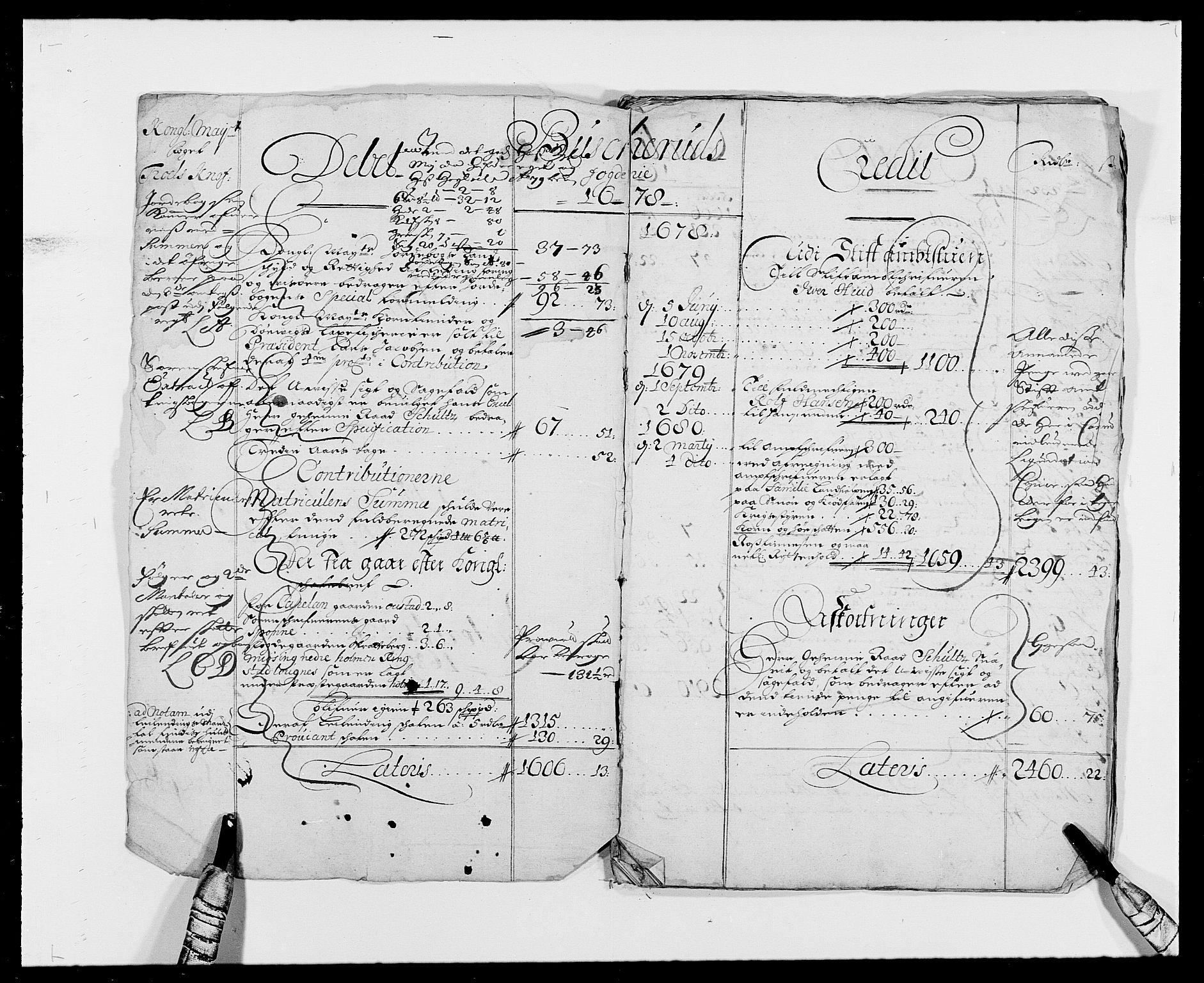 RA, Rentekammeret inntil 1814, Reviderte regnskaper, Fogderegnskap, R25/L1674: Fogderegnskap Buskerud, 1678-1681, s. 3