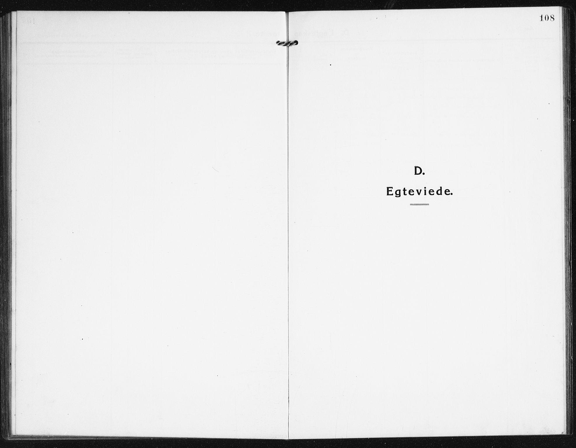 SAK, Valle sokneprestkontor, F/Fb/Fba/L0004: Klokkerbok nr. B 4, 1917-1944, s. 109