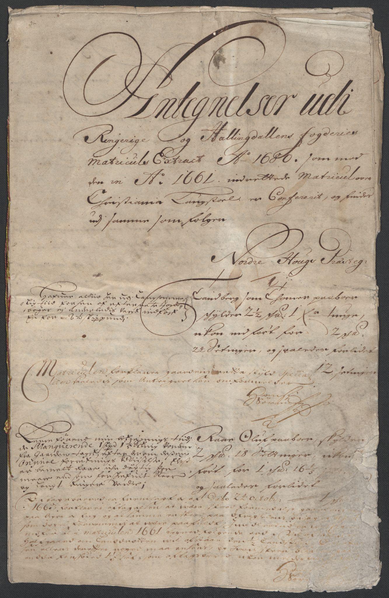 RA, Rentekammeret inntil 1814, Reviderte regnskaper, Fogderegnskap, R21/L1447: Fogderegnskap Ringerike og Hallingdal, 1687-1689, s. 384