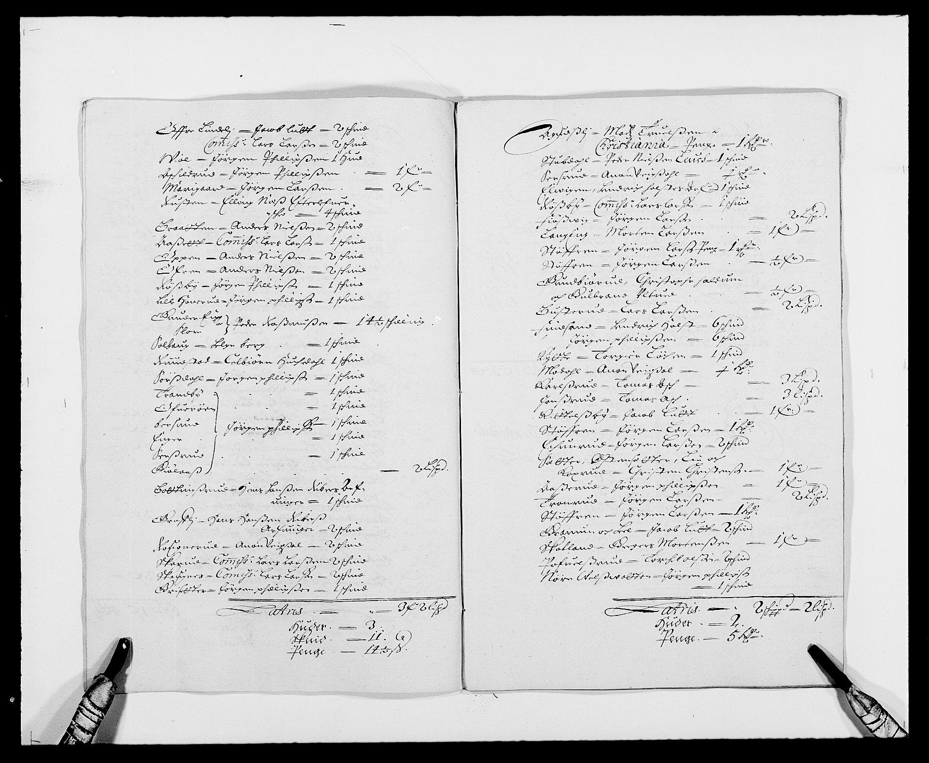 RA, Rentekammeret inntil 1814, Reviderte regnskaper, Fogderegnskap, R21/L1446: Fogderegnskap Ringerike og Hallingdal, 1683-1686, s. 340