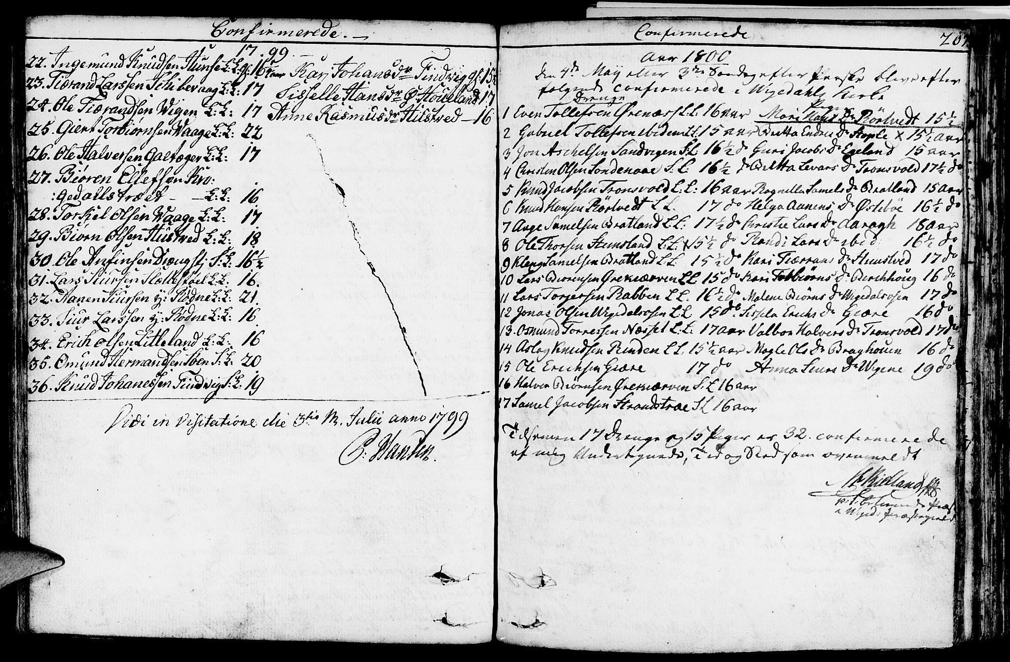 SAST, Vikedal sokneprestkontor, IV: Ministerialbok nr. A 2, 1779-1817, s. 207