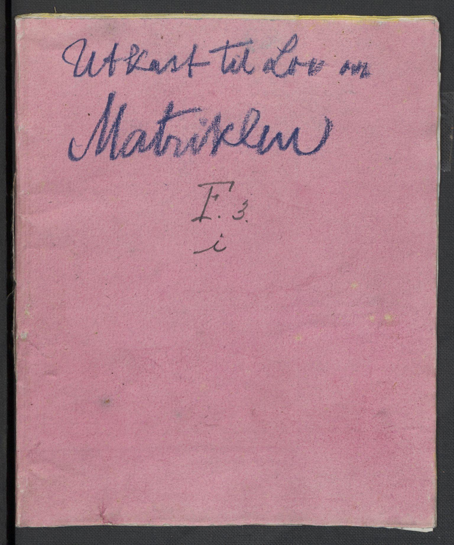 RA, Christie, Wilhelm Frimann Koren, F/L0006, 1817-1818, s. 417