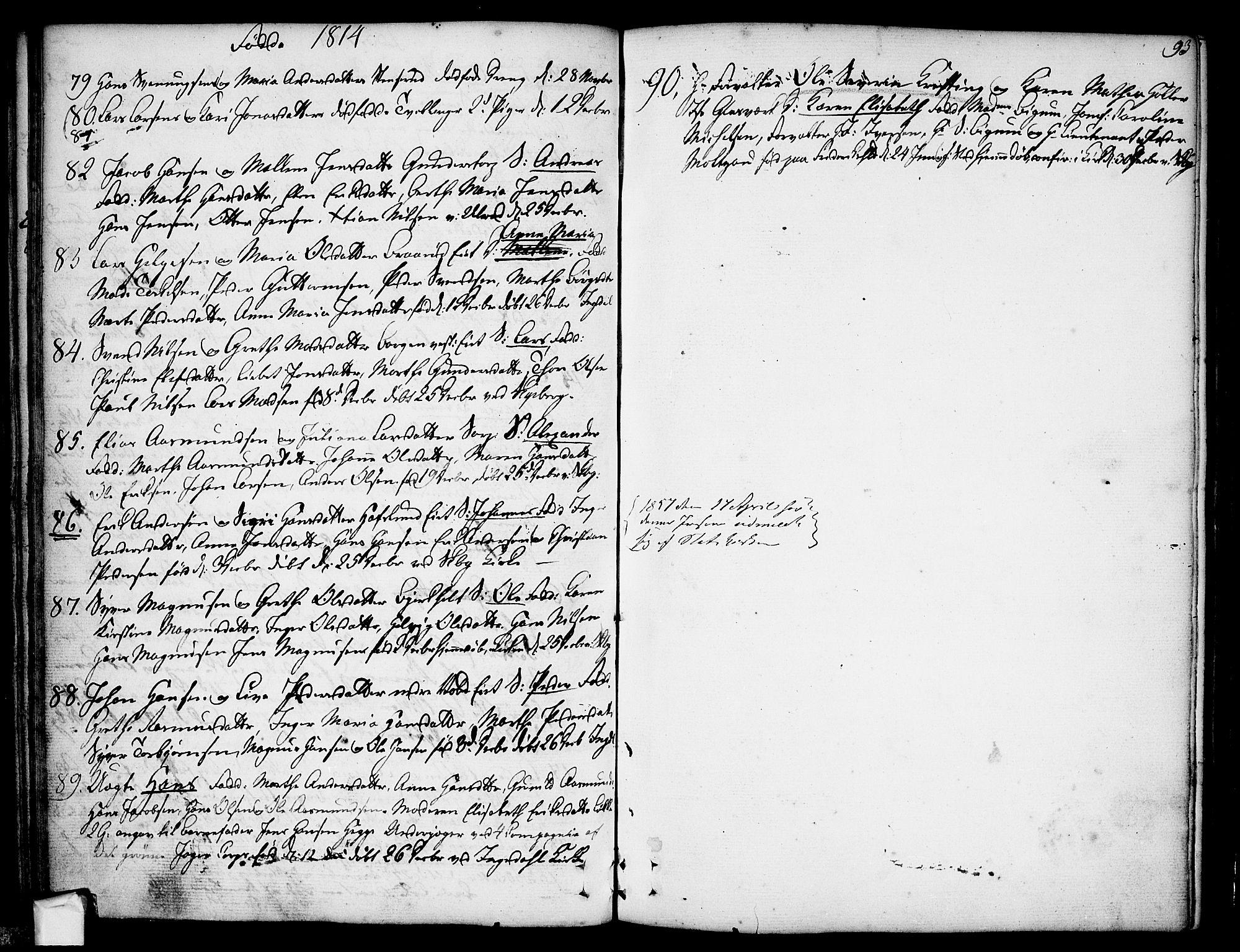 SAO, Skjeberg prestekontor Kirkebøker, F/Fa/L0003: Ministerialbok nr. I 3, 1792-1814, s. 93
