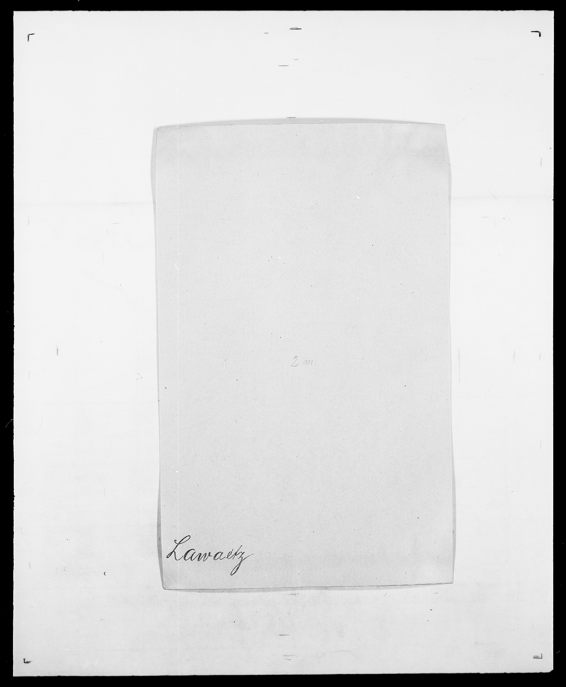 SAO, Delgobe, Charles Antoine - samling, D/Da/L0023: Lau - Lirvyn, s. 33