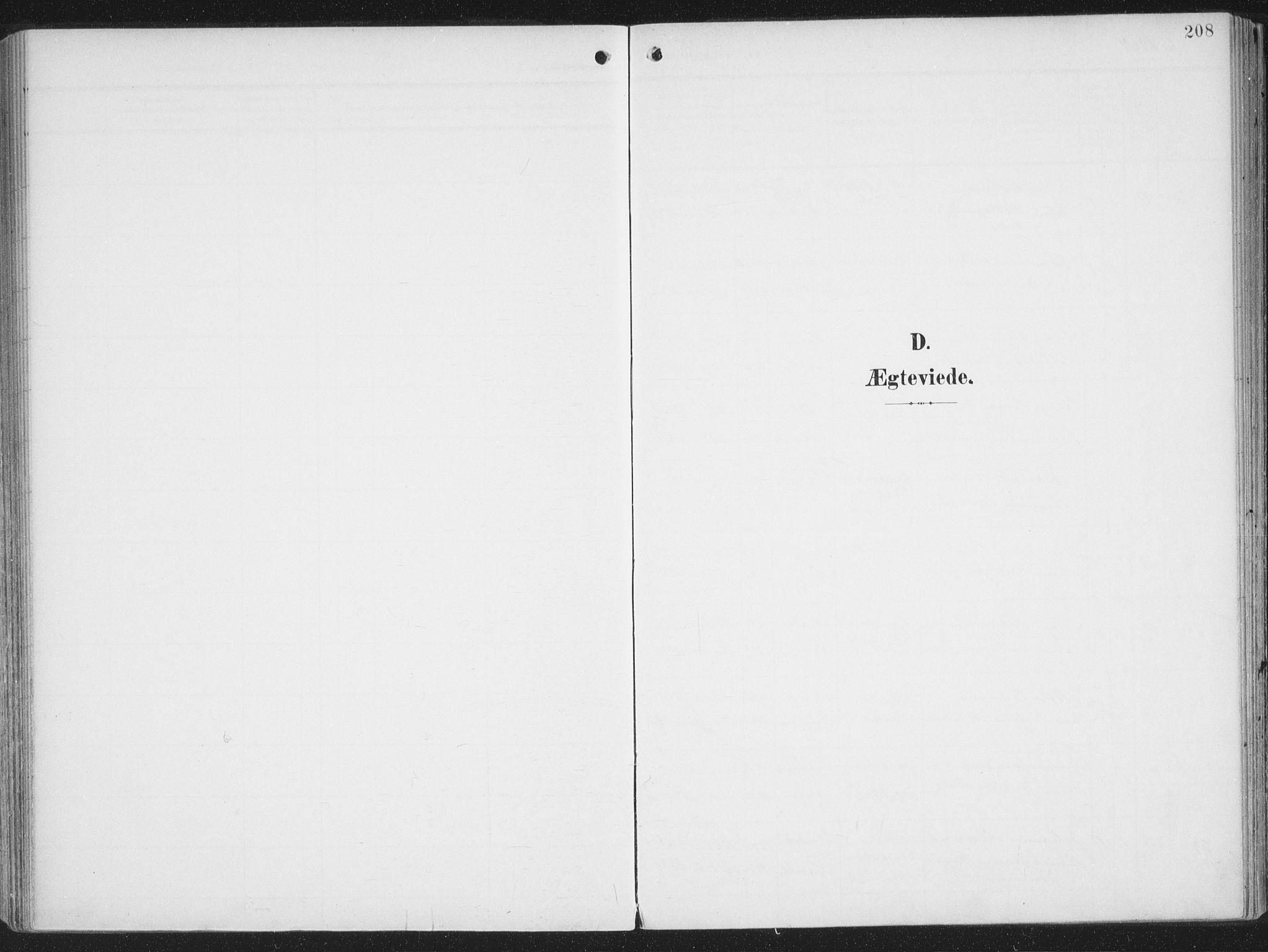 SATØ, Alta sokneprestkontor, H/Ha/L0005.kirke: Ministerialbok nr. 5, 1904-1918, s. 208