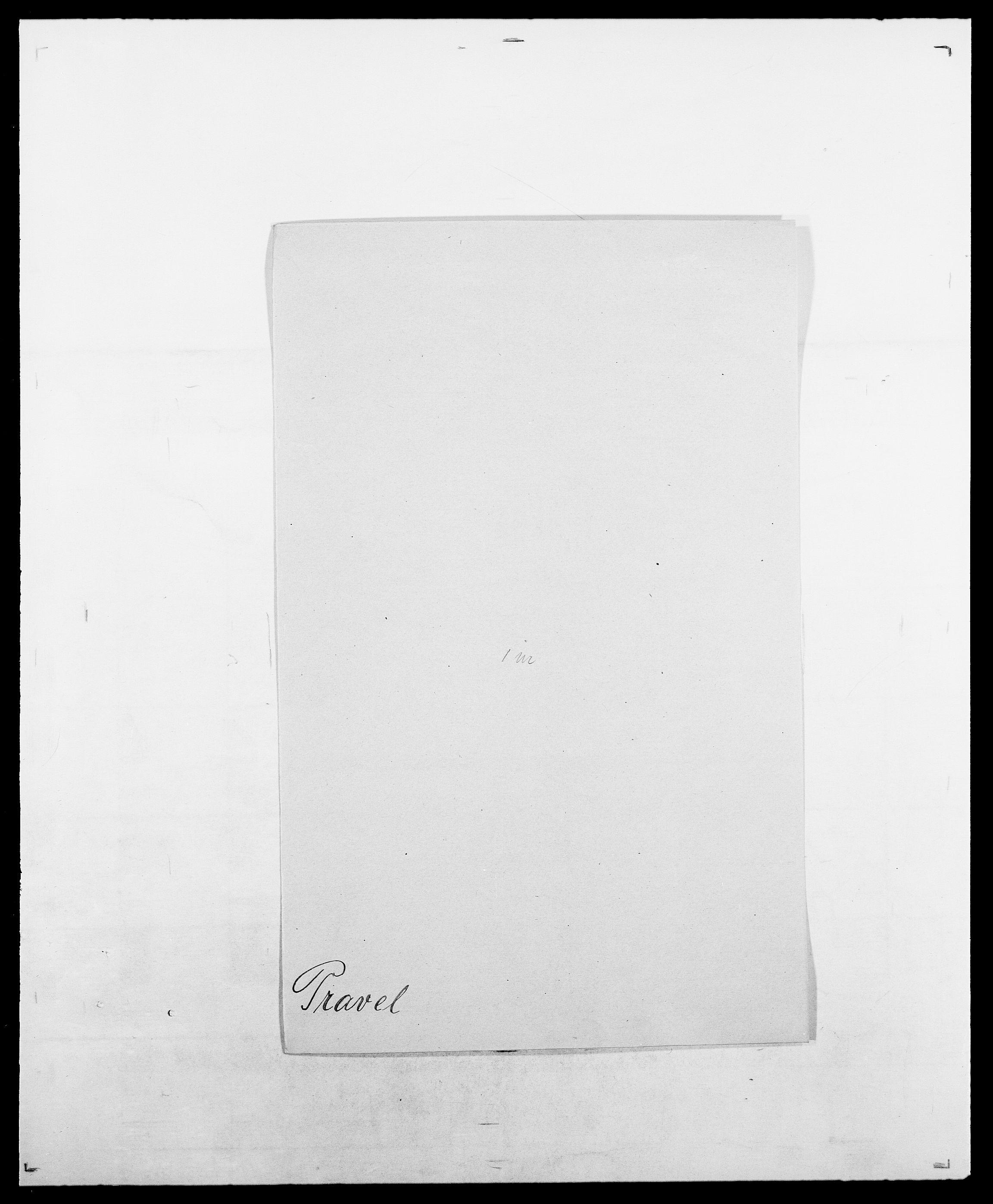 SAO, Delgobe, Charles Antoine - samling, D/Da/L0031: de Place - Raaum, s. 299