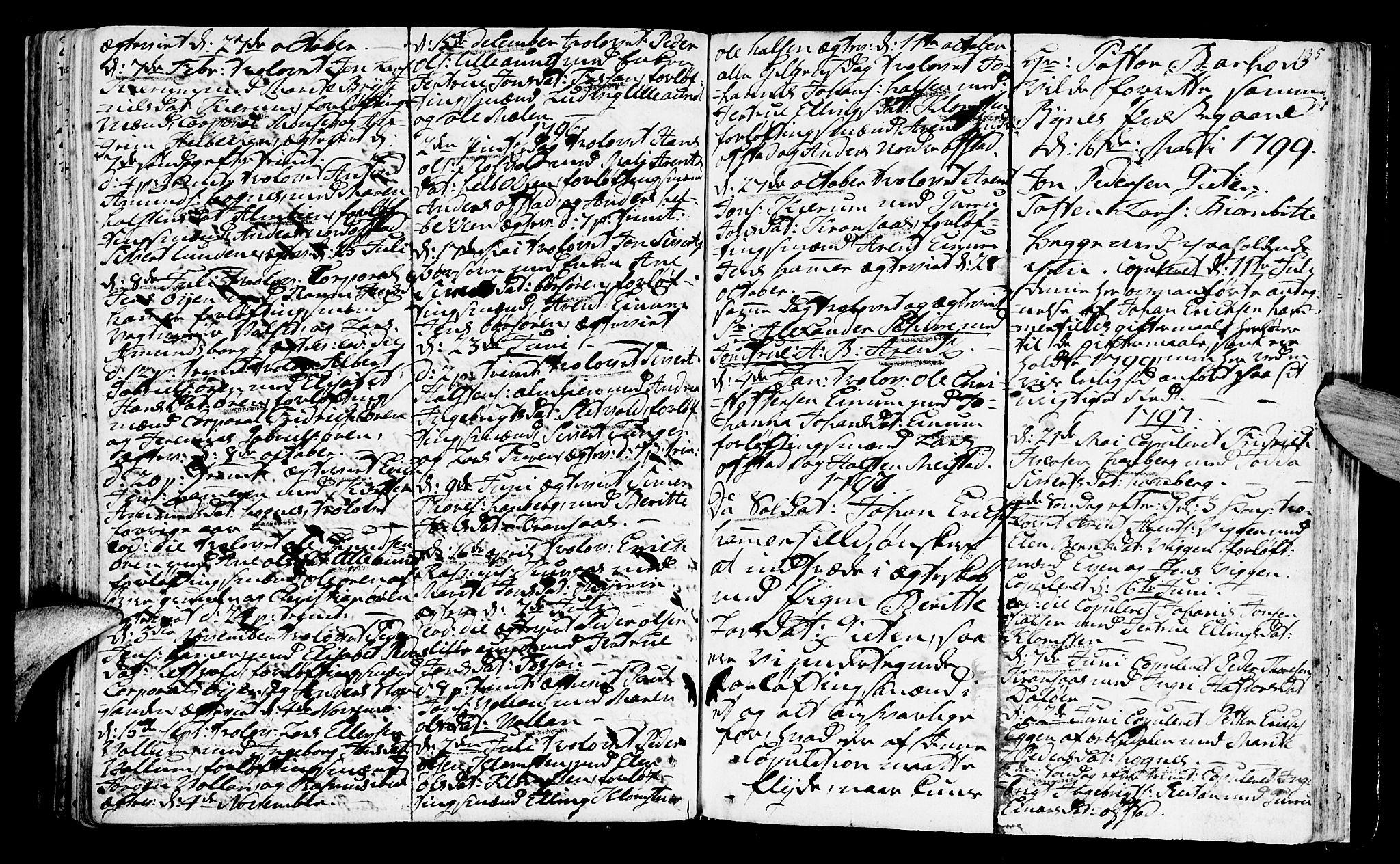 SAT, Ministerialprotokoller, klokkerbøker og fødselsregistre - Sør-Trøndelag, 665/L0768: Ministerialbok nr. 665A03, 1754-1803, s. 135