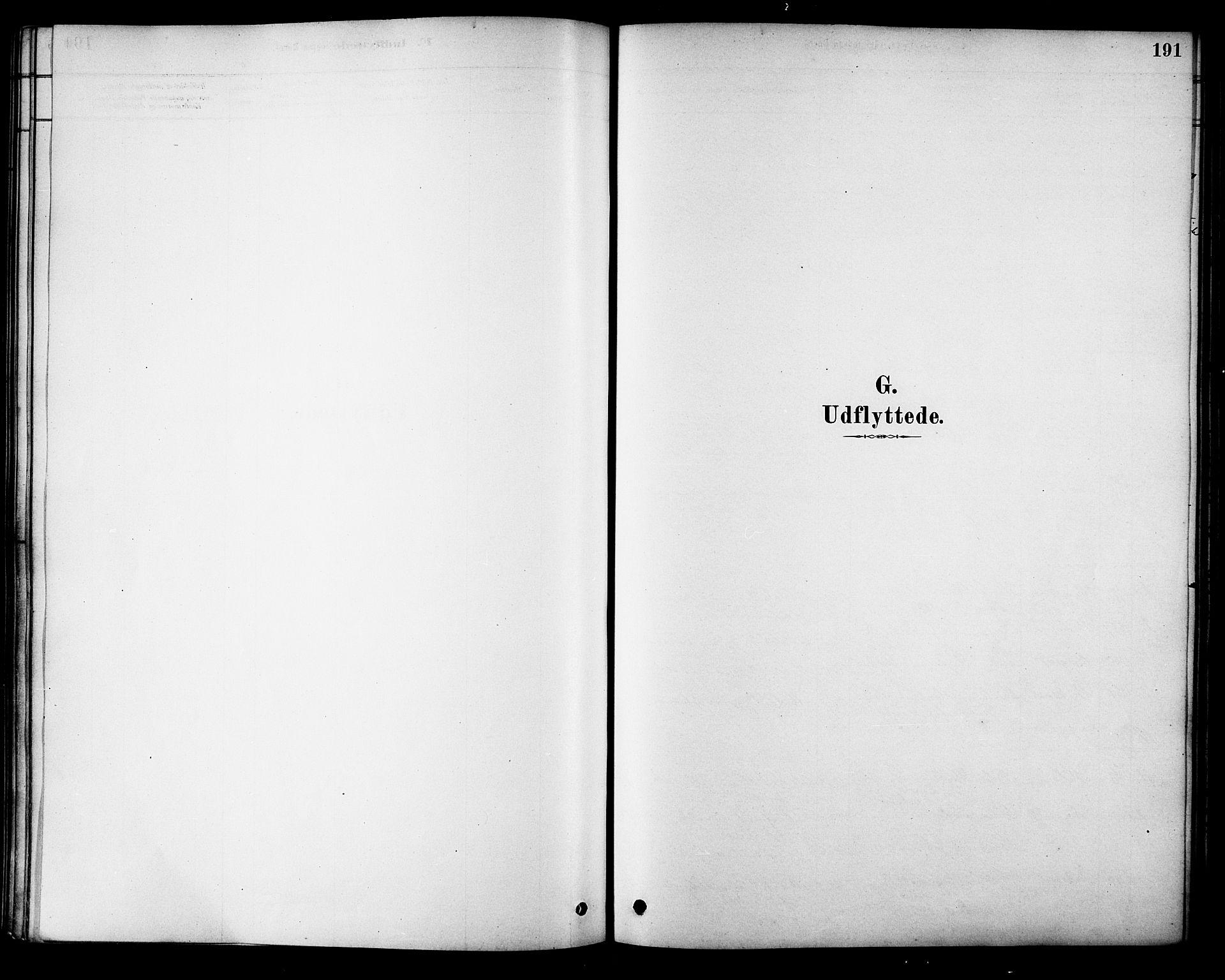 SAT, Ministerialprotokoller, klokkerbøker og fødselsregistre - Nordland, 885/L1204: Ministerialbok nr. 885A05, 1878-1892, s. 191