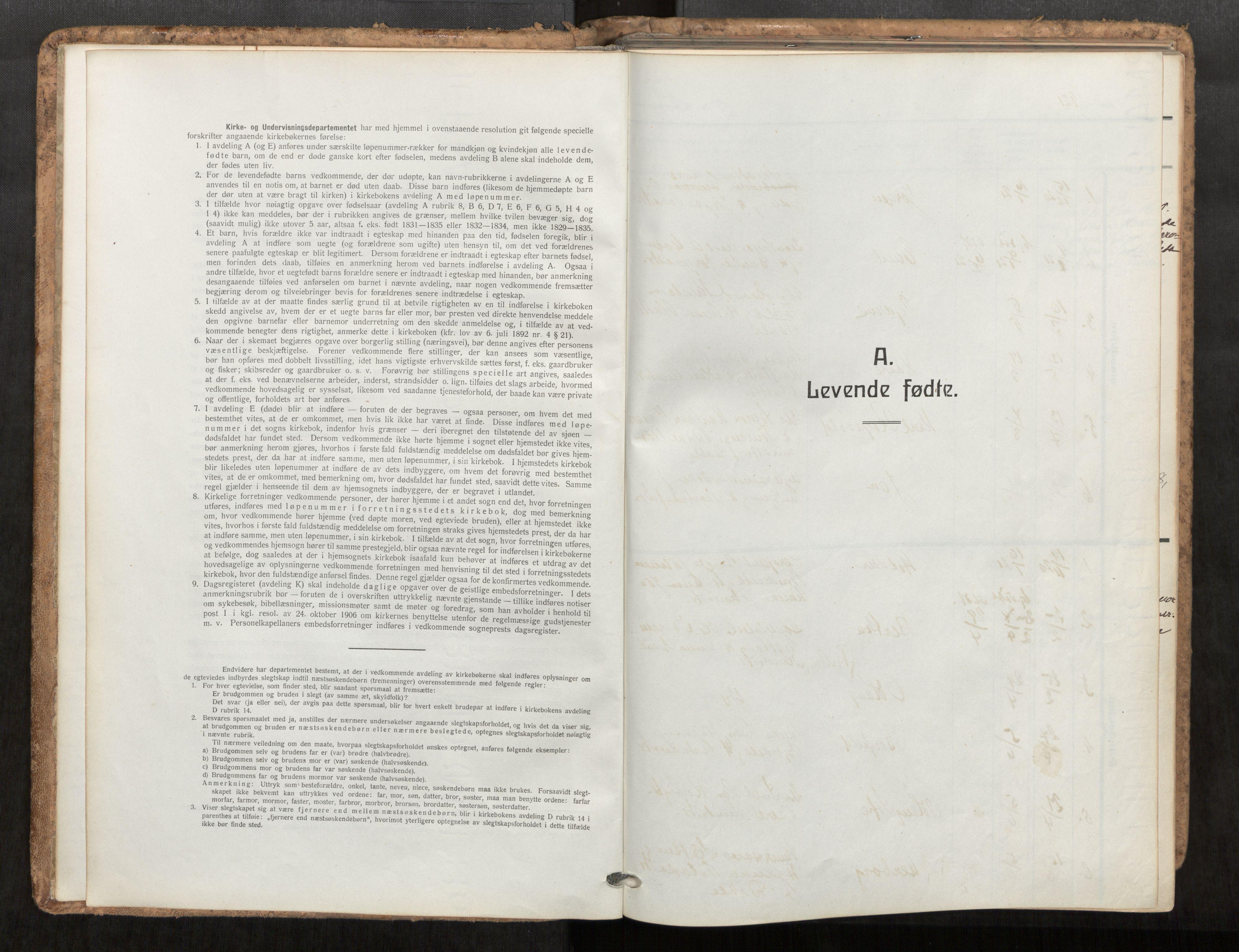 SAT, Grytten sokneprestkontor, Ministerialbok nr. 545A04, 1921-1956