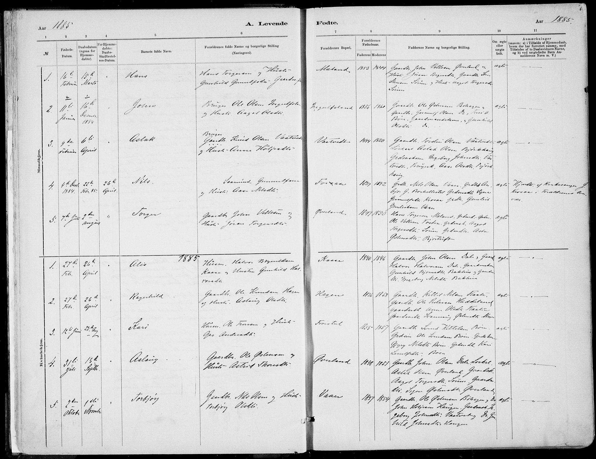 SAKO, Rjukan kirkebøker, F/Fa/L0001: Ministerialbok nr. 1, 1878-1912, s. 7