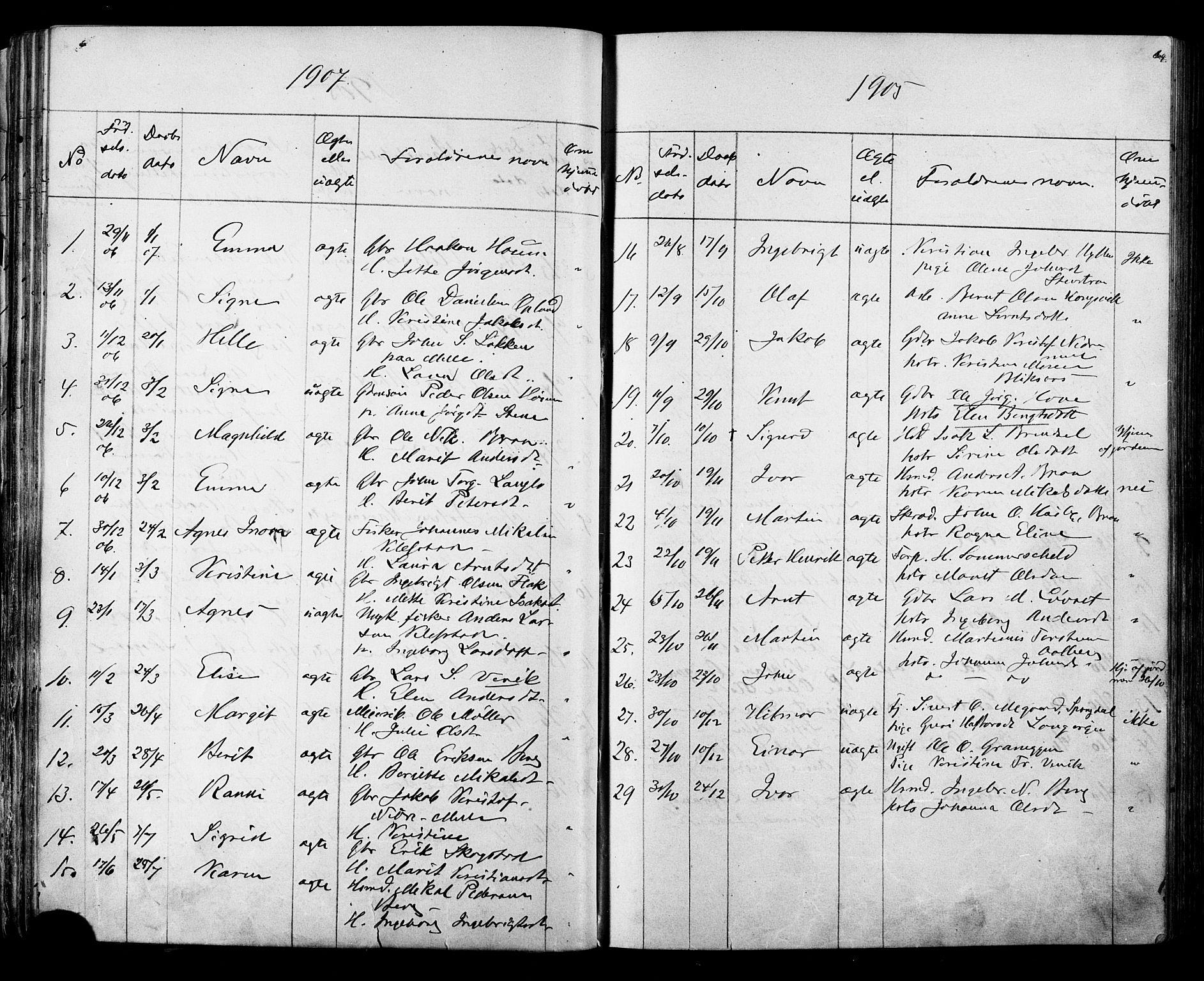 SAT, Ministerialprotokoller, klokkerbøker og fødselsregistre - Sør-Trøndelag, 612/L0387: Klokkerbok nr. 612C03, 1874-1908, s. 64