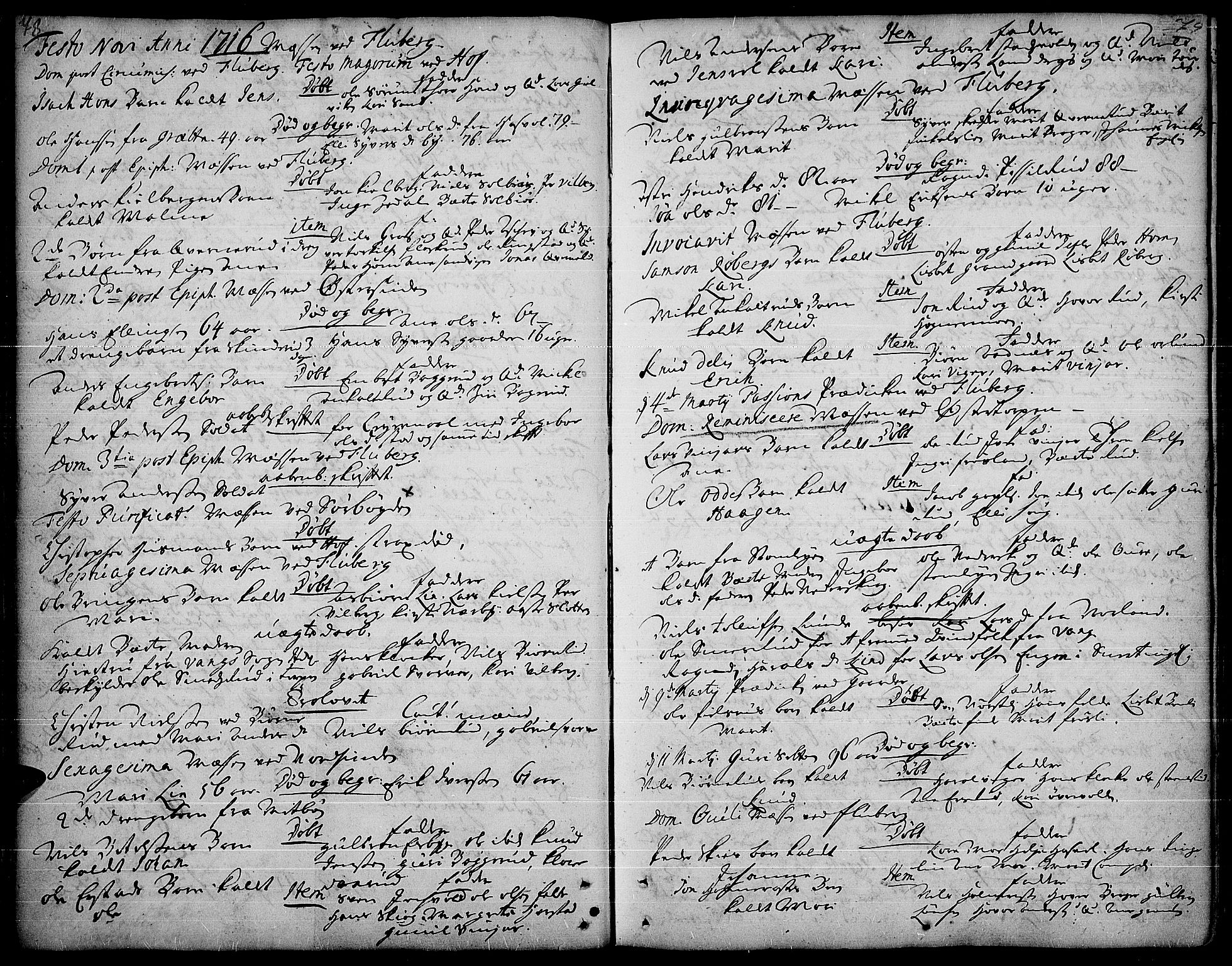 SAH, Land prestekontor, Ministerialbok nr. 1, 1708-1732, s. 78-79