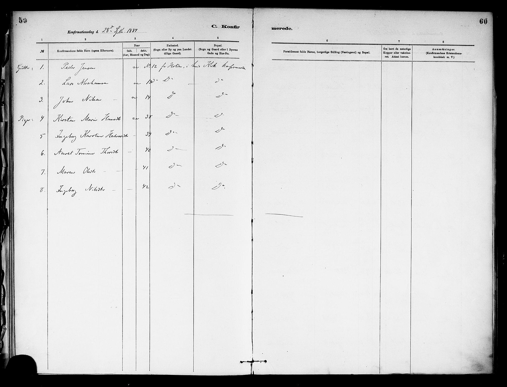 SAKO, Holla kirkebøker, F/Fa/L0009: Ministerialbok nr. 9, 1881-1897, s. 59