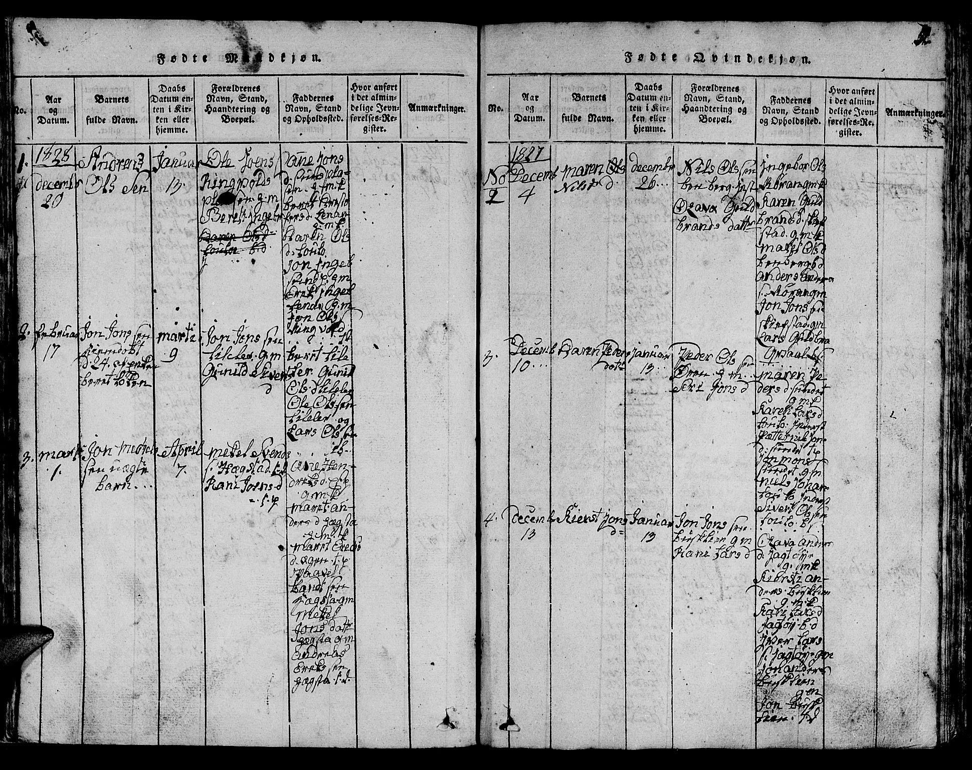 SAT, Ministerialprotokoller, klokkerbøker og fødselsregistre - Sør-Trøndelag, 613/L0393: Klokkerbok nr. 613C01, 1816-1886, s. 52