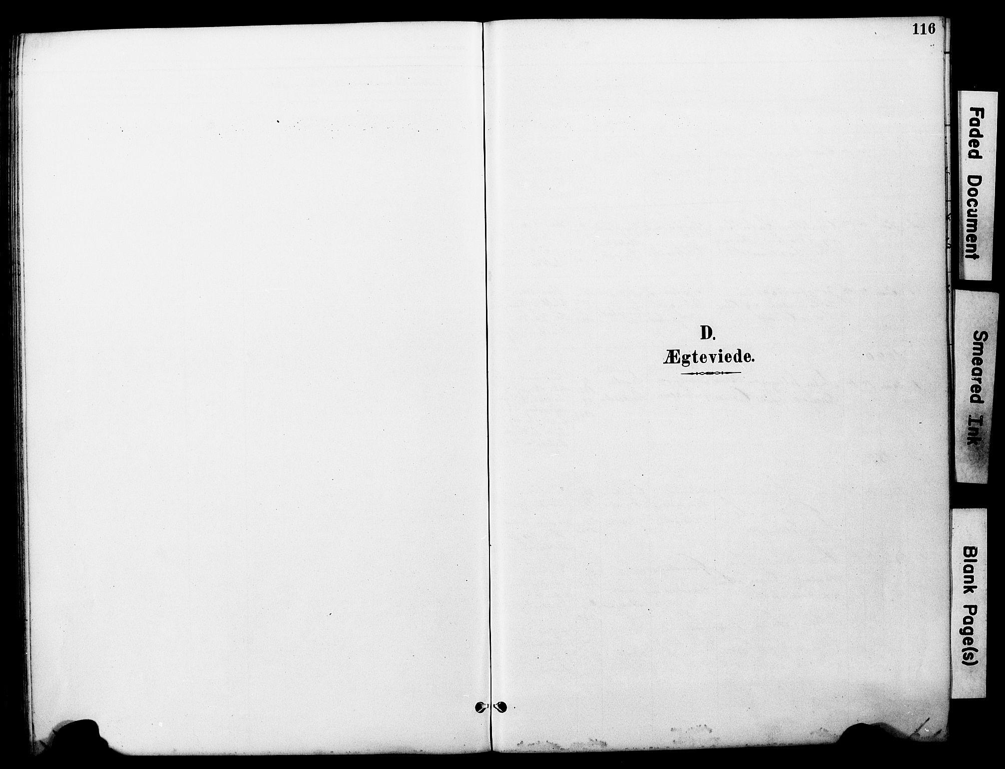 SAT, Ministerialprotokoller, klokkerbøker og fødselsregistre - Nord-Trøndelag, 722/L0226: Klokkerbok nr. 722C02, 1889-1927, s. 116