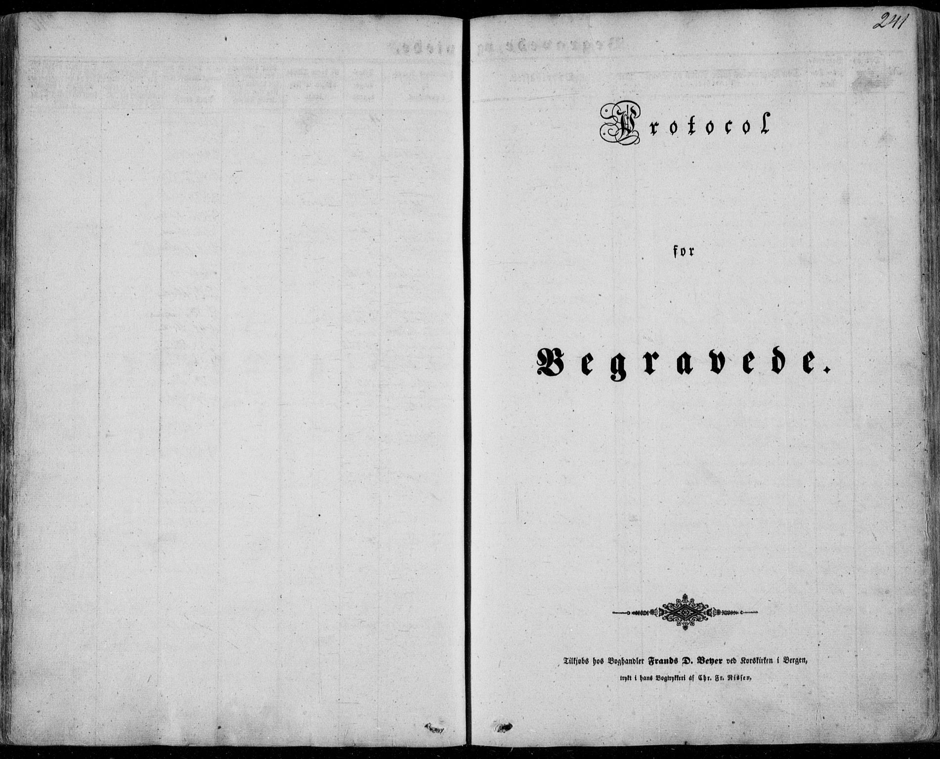 SAB, Manger sokneprestembete, H/Haa: Ministerialbok nr. A 6, 1849-1859, s. 241