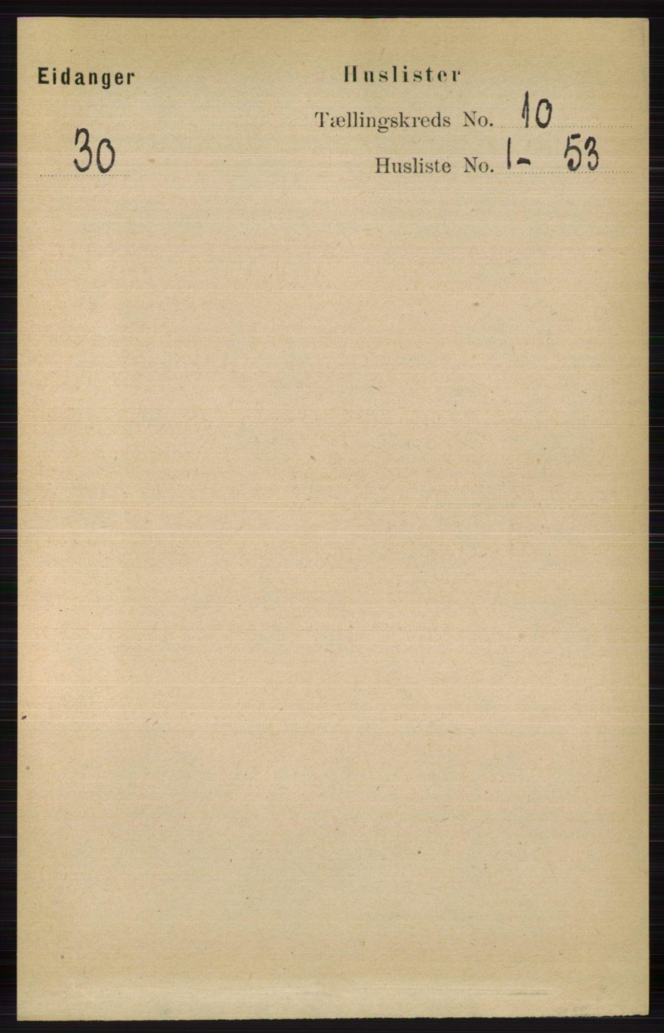 RA, Folketelling 1891 for 0813 Eidanger herred, 1891, s. 3879