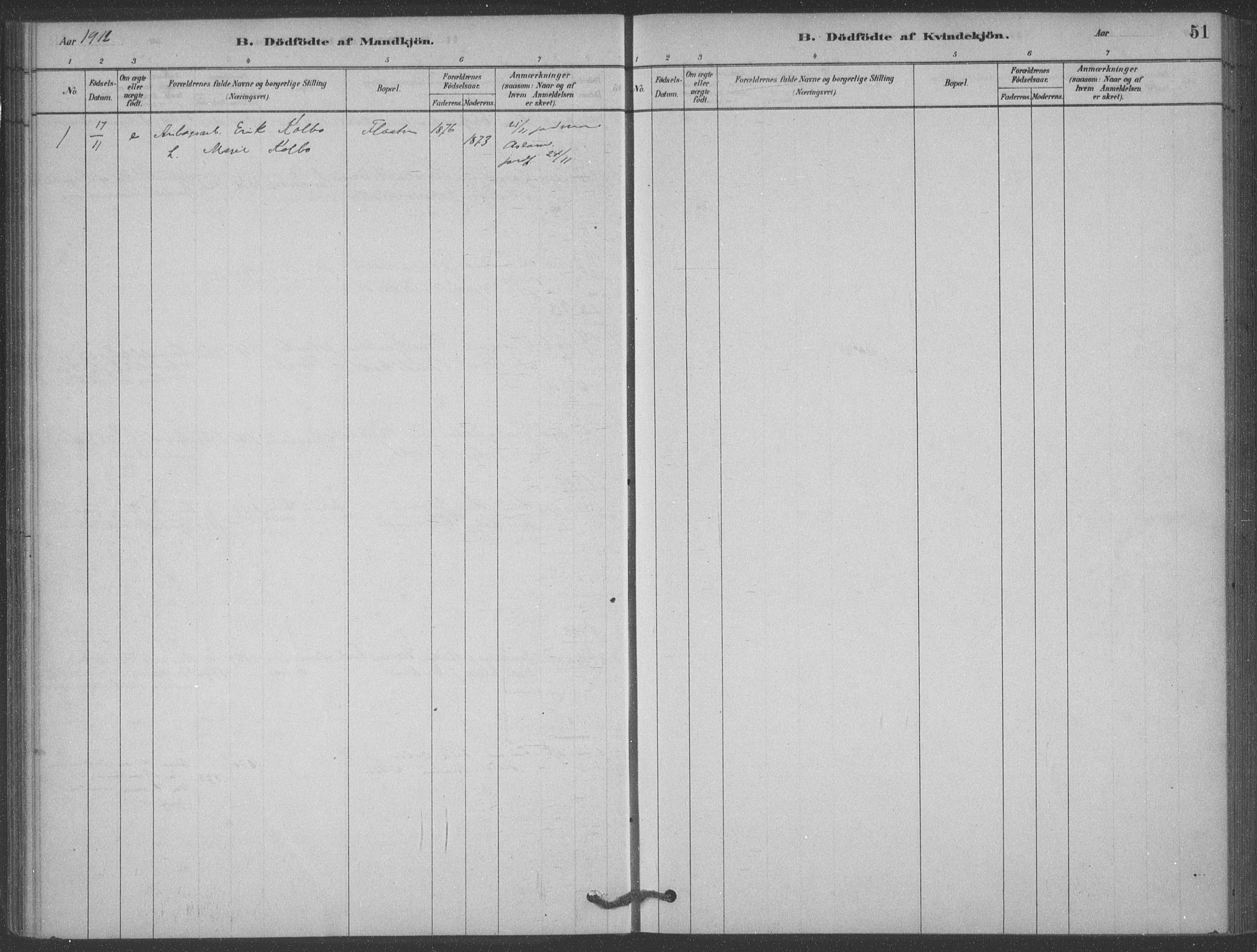 SAKO, Heddal kirkebøker, F/Fb/L0002: Ministerialbok nr. II 2, 1878-1913, s. 51