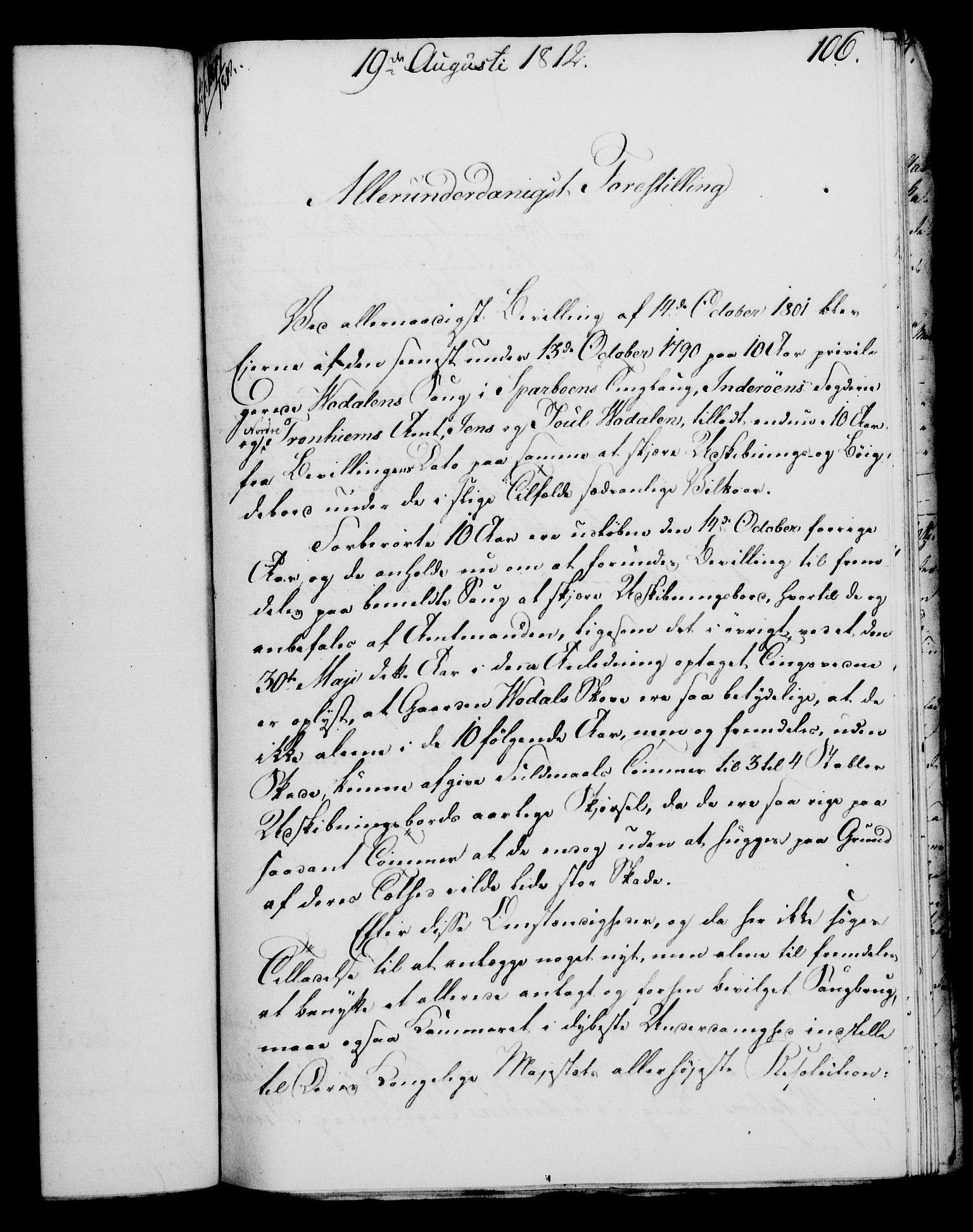 RA, Rentekammeret, Kammerkanselliet, G/Gf/Gfa/L0094: Norsk relasjons- og resolusjonsprotokoll (merket RK 52.94), 1812, s. 417