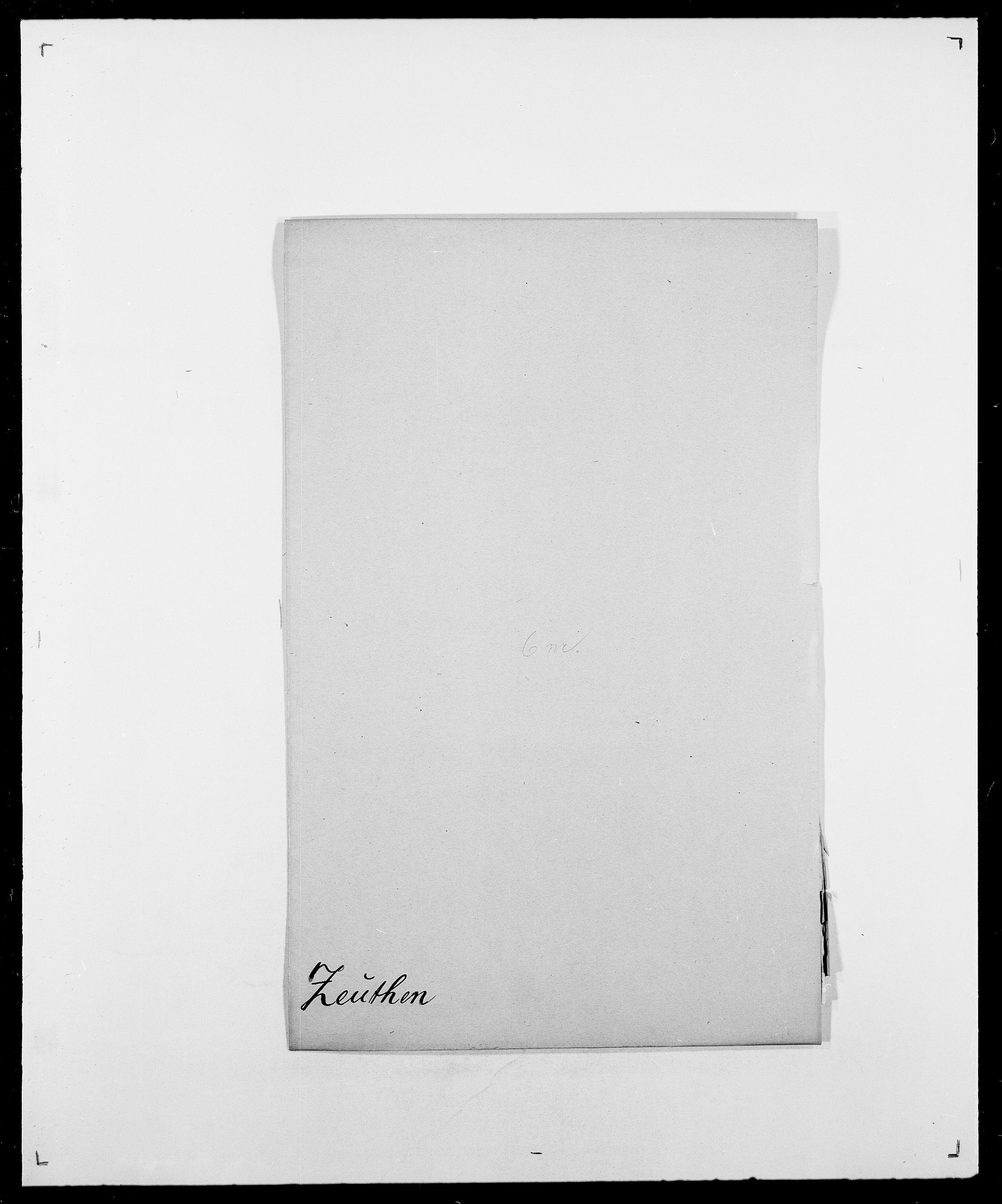 SAO, Delgobe, Charles Antoine - samling, D/Da/L0043: Wulfsberg - v. Zanten, s. 111