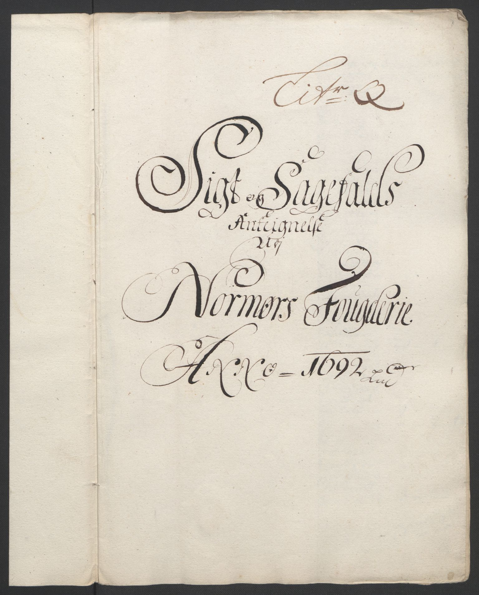 RA, Rentekammeret inntil 1814, Reviderte regnskaper, Fogderegnskap, R56/L3735: Fogderegnskap Nordmøre, 1692-1693, s. 171