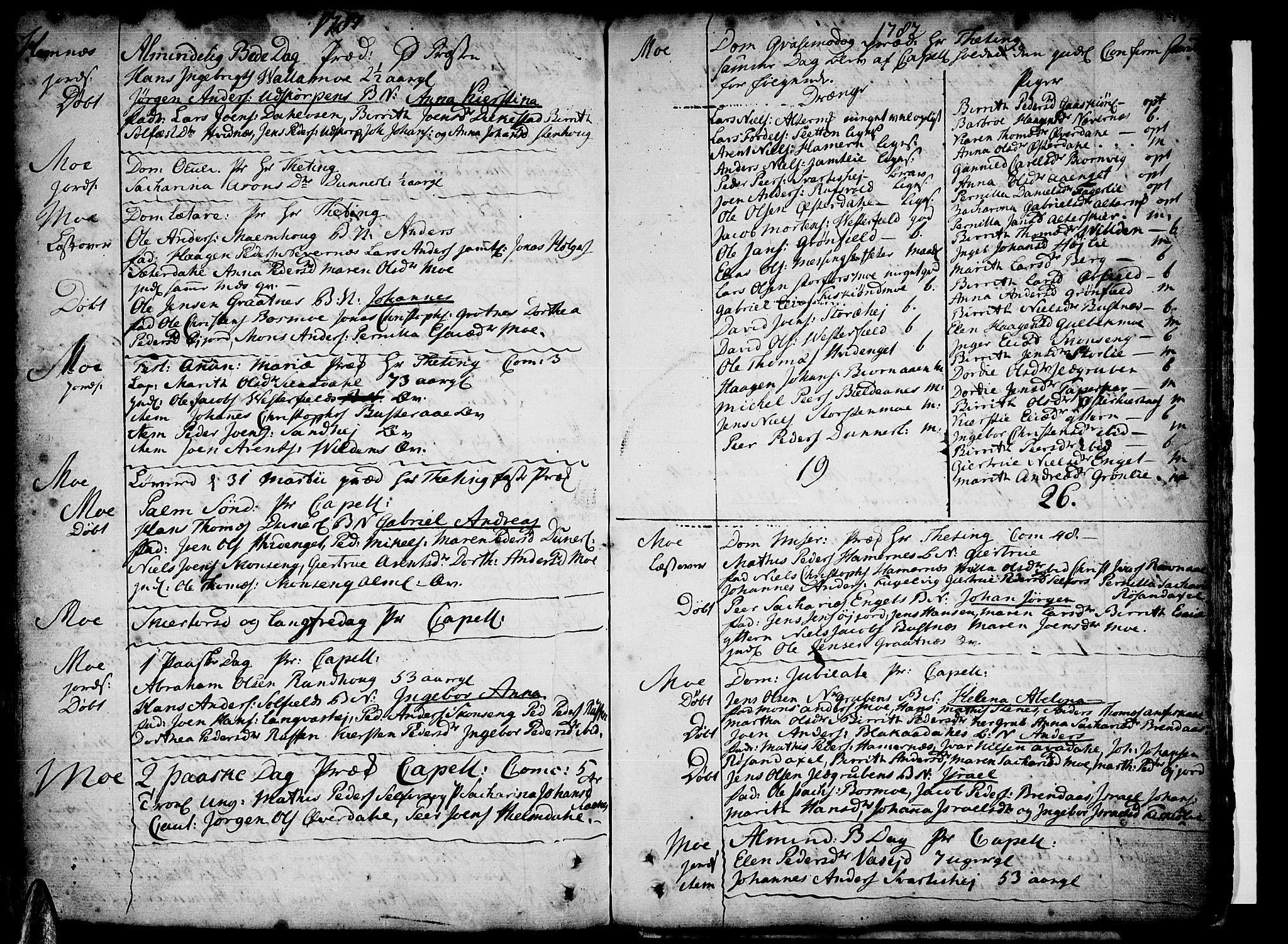 SAT, Ministerialprotokoller, klokkerbøker og fødselsregistre - Nordland, 825/L0348: Ministerialbok nr. 825A04, 1752-1788, s. 359