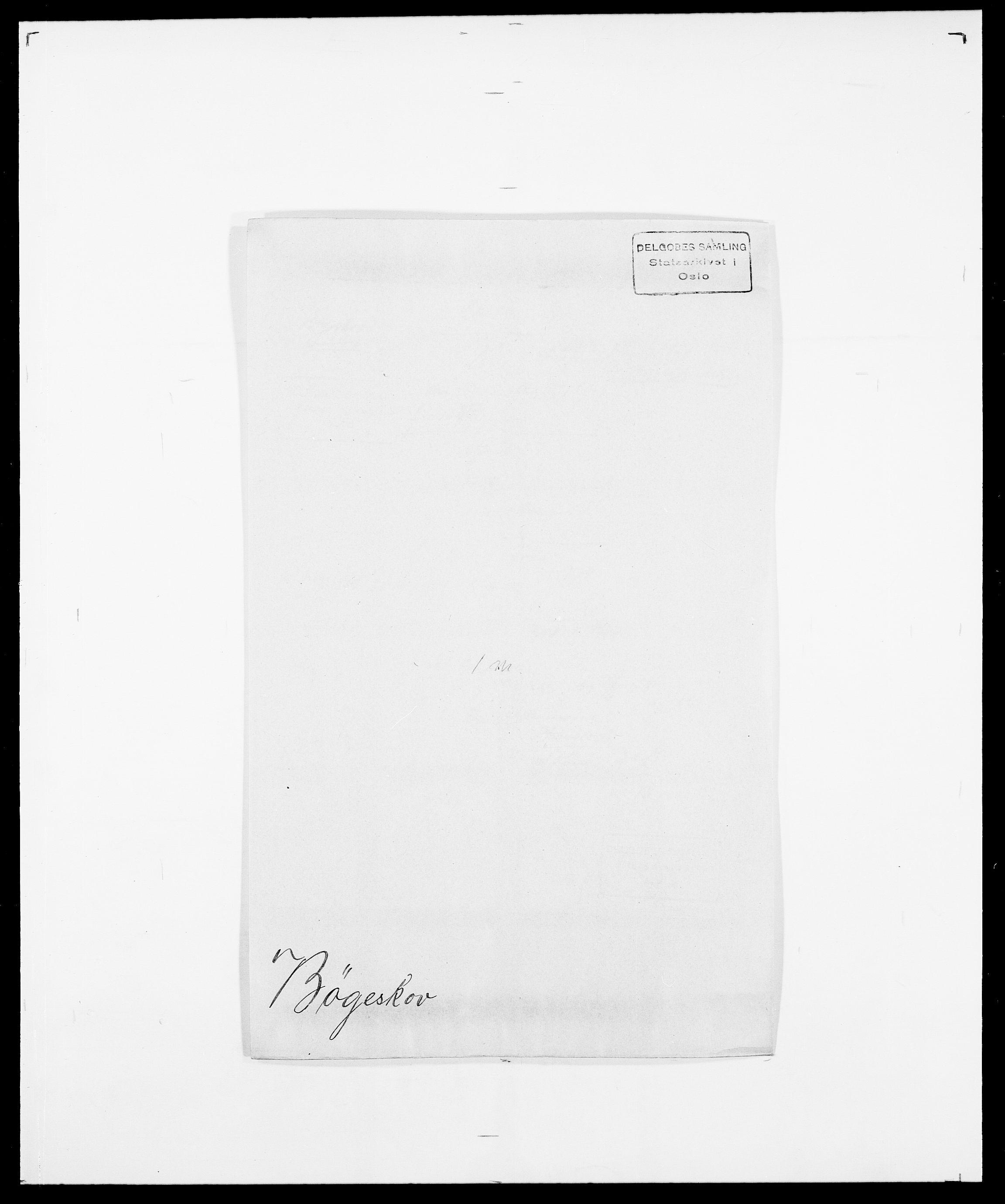 SAO, Delgobe, Charles Antoine - samling, D/Da/L0007: Buaas - Caphengst, s. 698