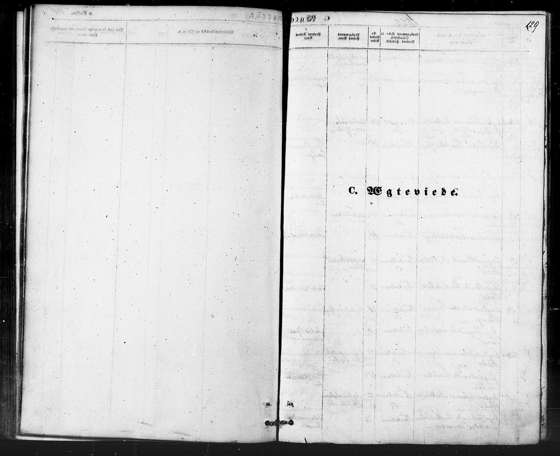 SATØ, Kautokeino sokneprestembete, H/Ha/L0003.kirke: Ministerialbok nr. 3, 1862-1879, s. 129