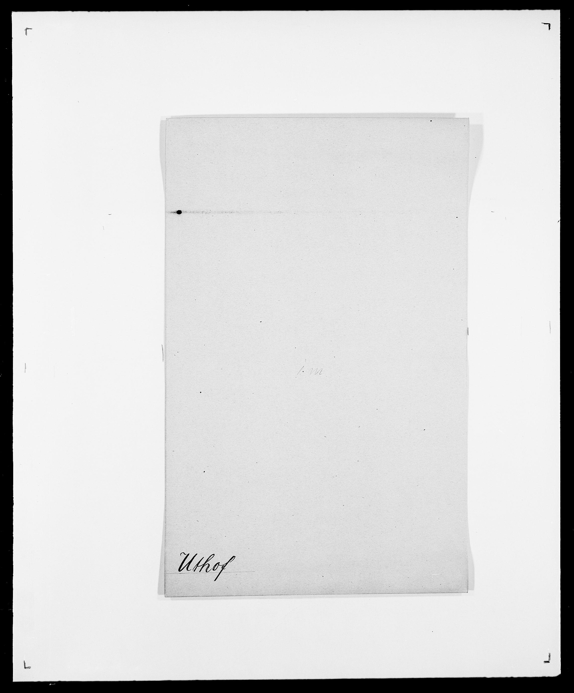SAO, Delgobe, Charles Antoine - samling, D/Da/L0040: Usgaard - Velund, s. 15