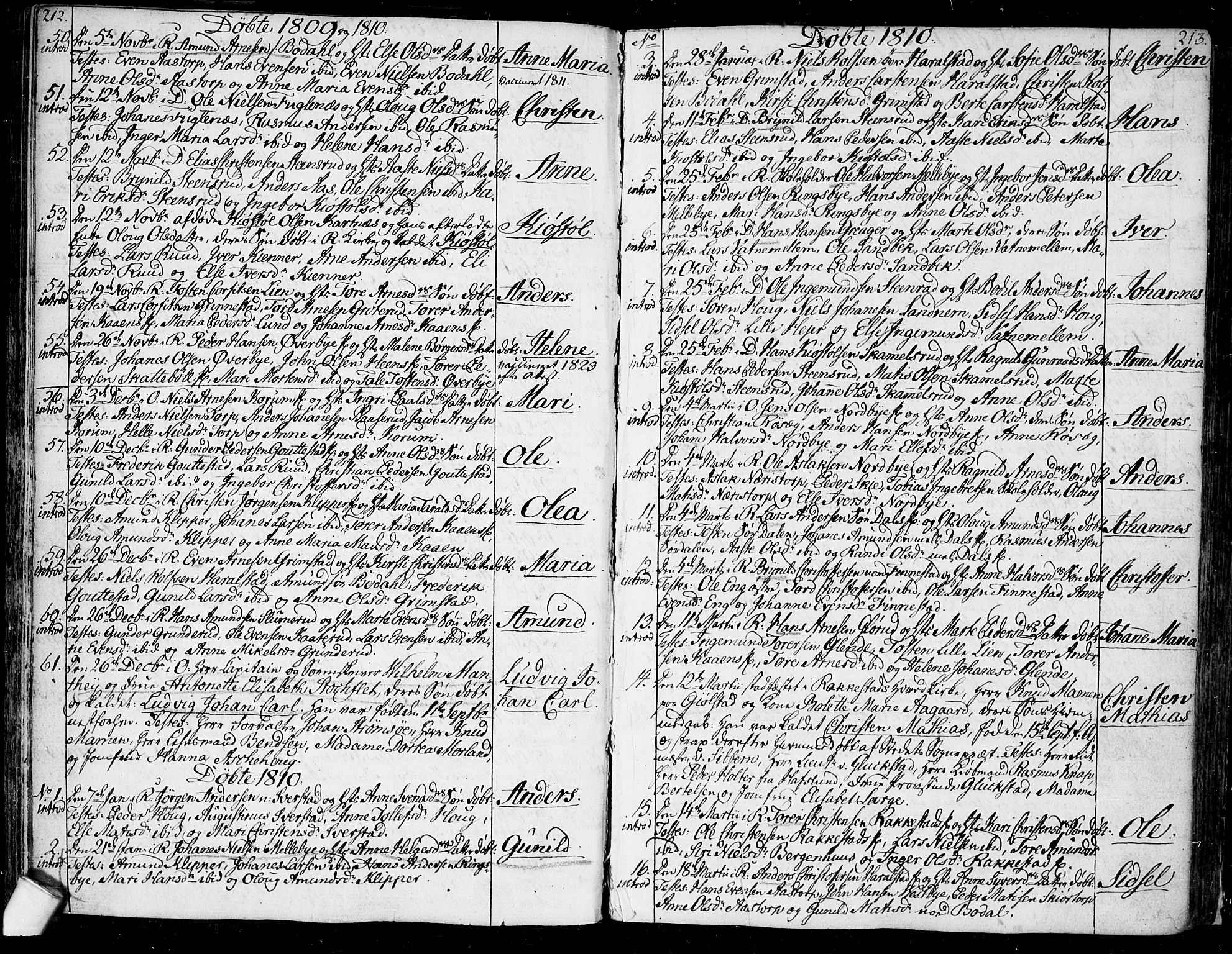 SAO, Rakkestad prestekontor Kirkebøker, F/Fa/L0005: Ministerialbok nr. I 5, 1784-1814, s. 212-213