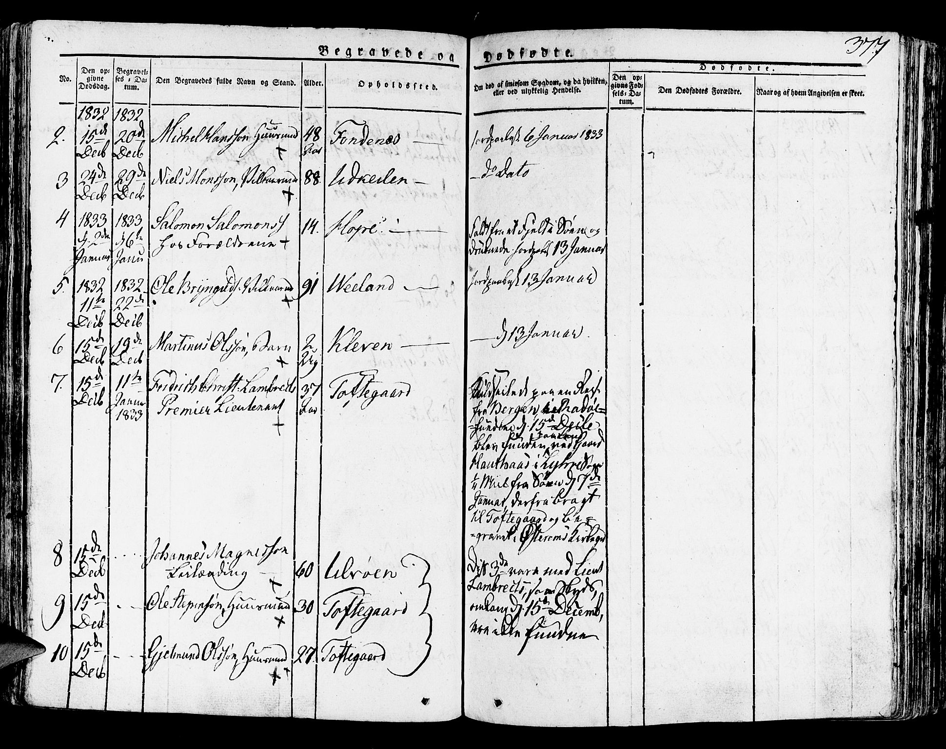 SAB, Lindås Sokneprestembete, H/Haa: Ministerialbok nr. A 8, 1823-1836, s. 377