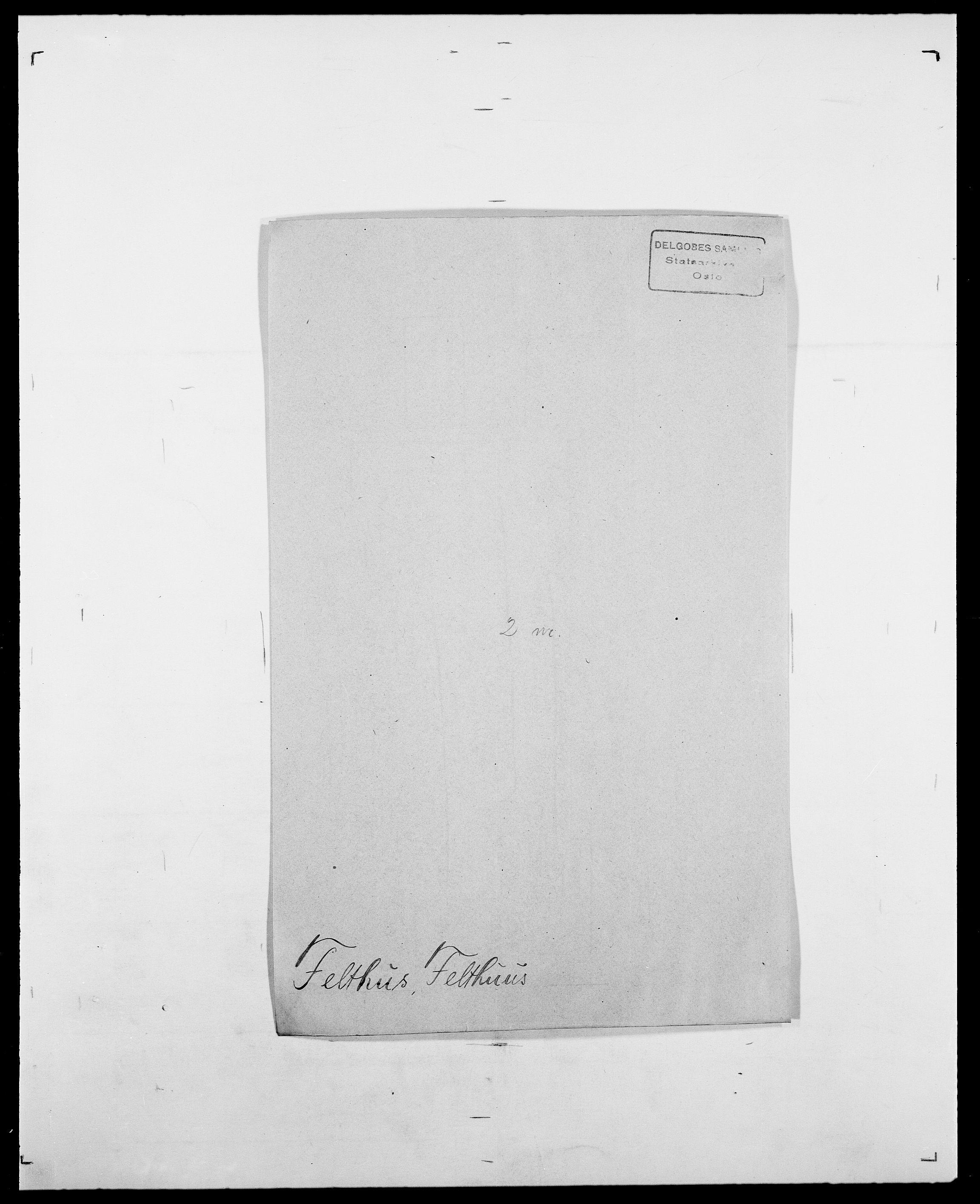 SAO, Delgobe, Charles Antoine - samling, D/Da/L0011: Fahlander - Flood, Flod, s. 346