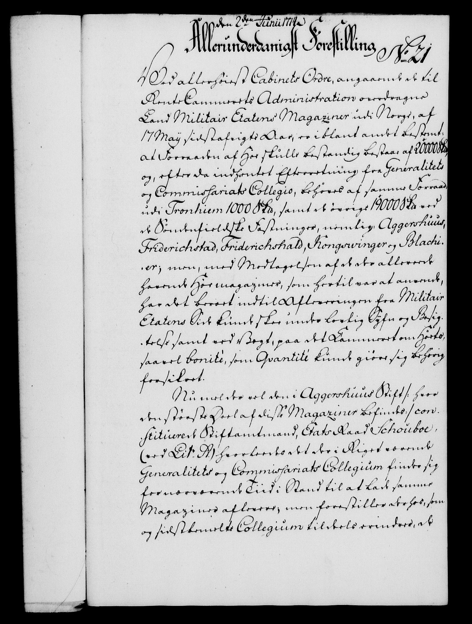 RA, Rentekammeret, Kammerkanselliet, G/Gf/Gfa/L0056: Norsk relasjons- og resolusjonsprotokoll (merket RK 52.56), 1774, s. 99