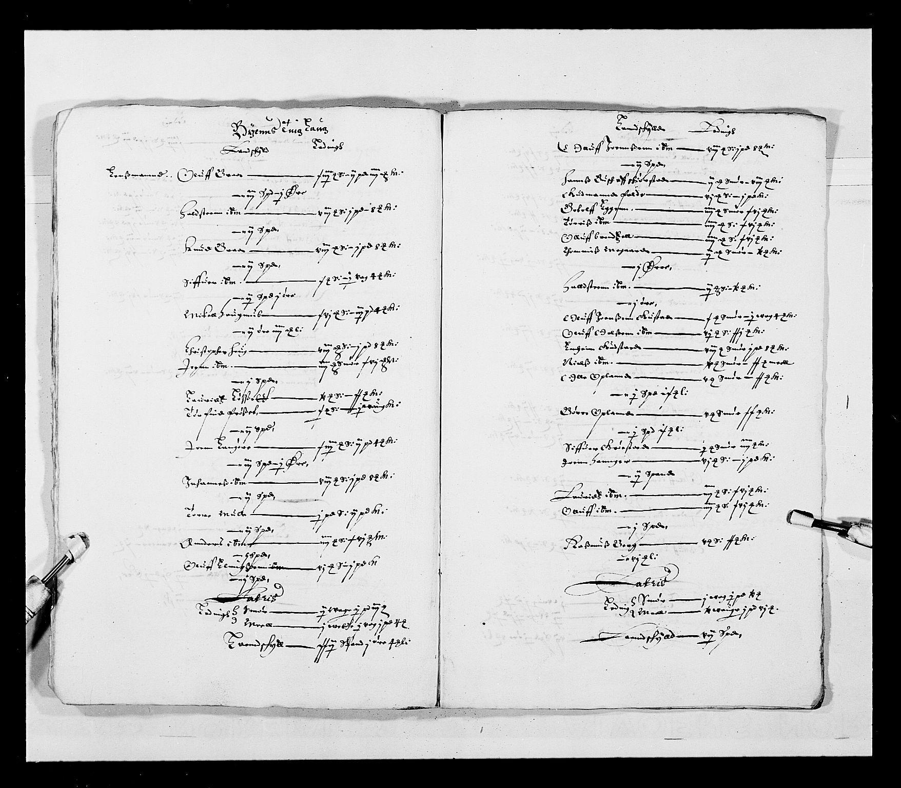 RA, Stattholderembetet 1572-1771, Ek/L0028: Jordebøker 1633-1658:, 1645-1646, s. 172