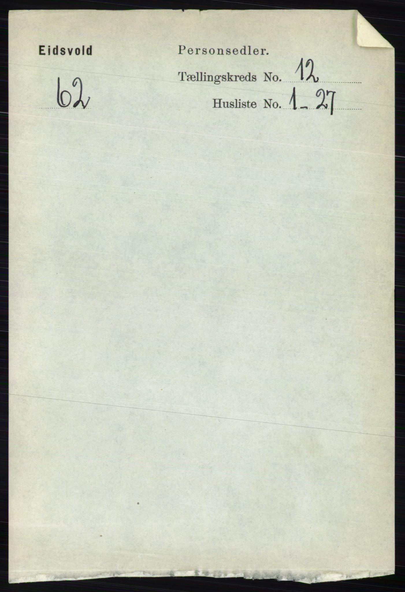 RA, Folketelling 1891 for 0237 Eidsvoll herred, 1891, s. 8481
