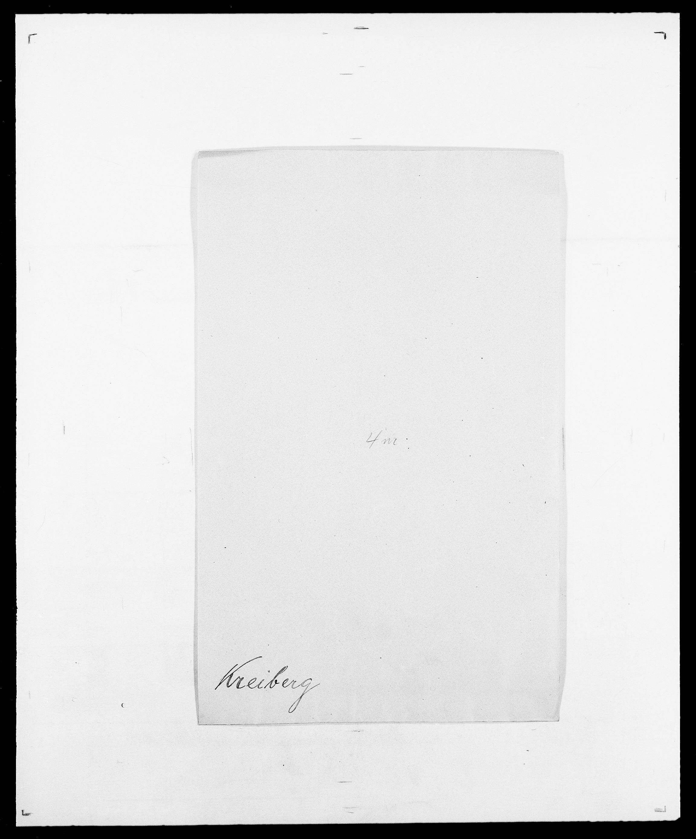 SAO, Delgobe, Charles Antoine - samling, D/Da/L0021: Klagenberg - Kristoft, s. 767