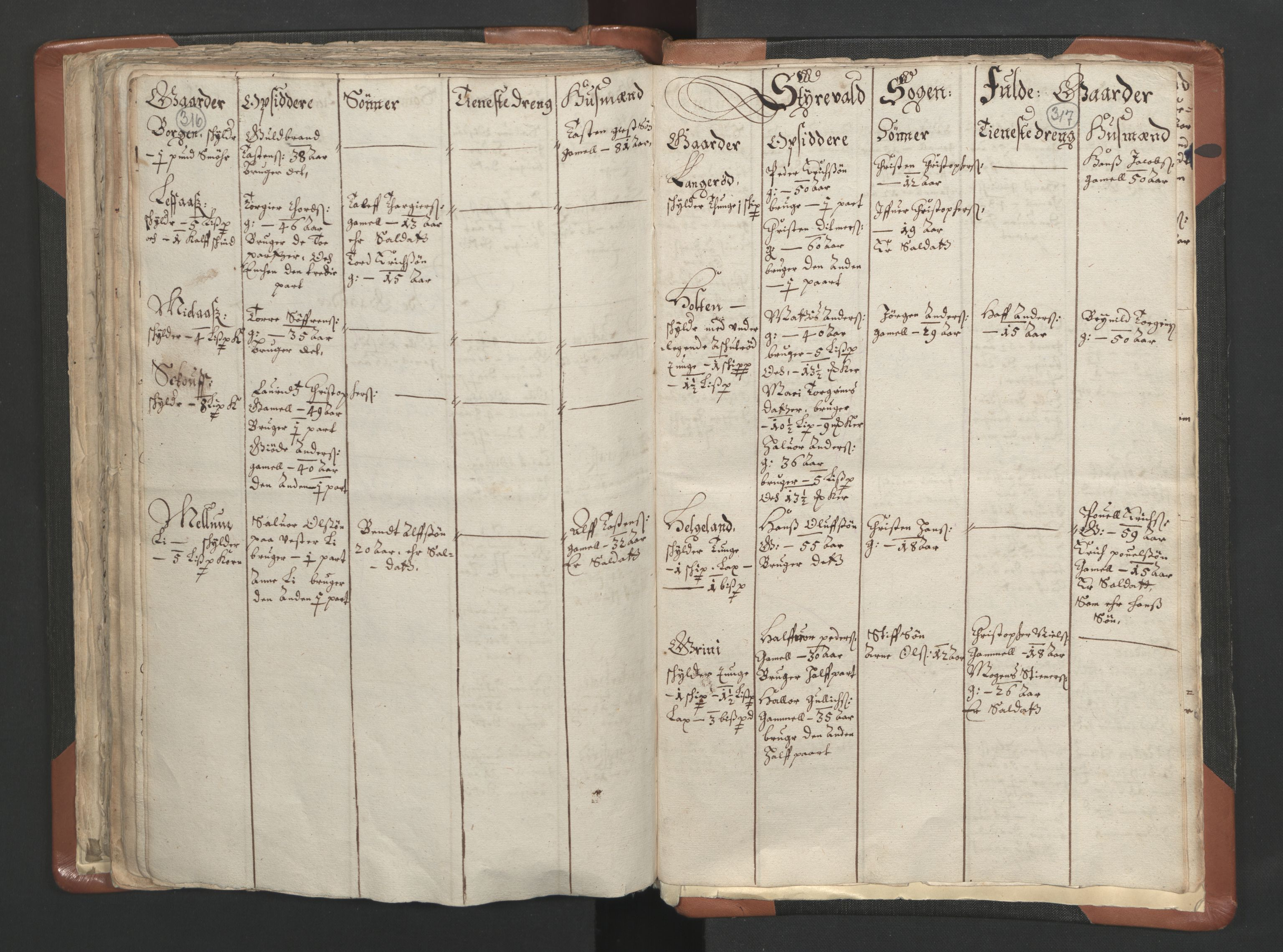 RA, Sogneprestenes manntall 1664-1666, nr. 10: Tønsberg prosti, 1664-1666, s. 316-317