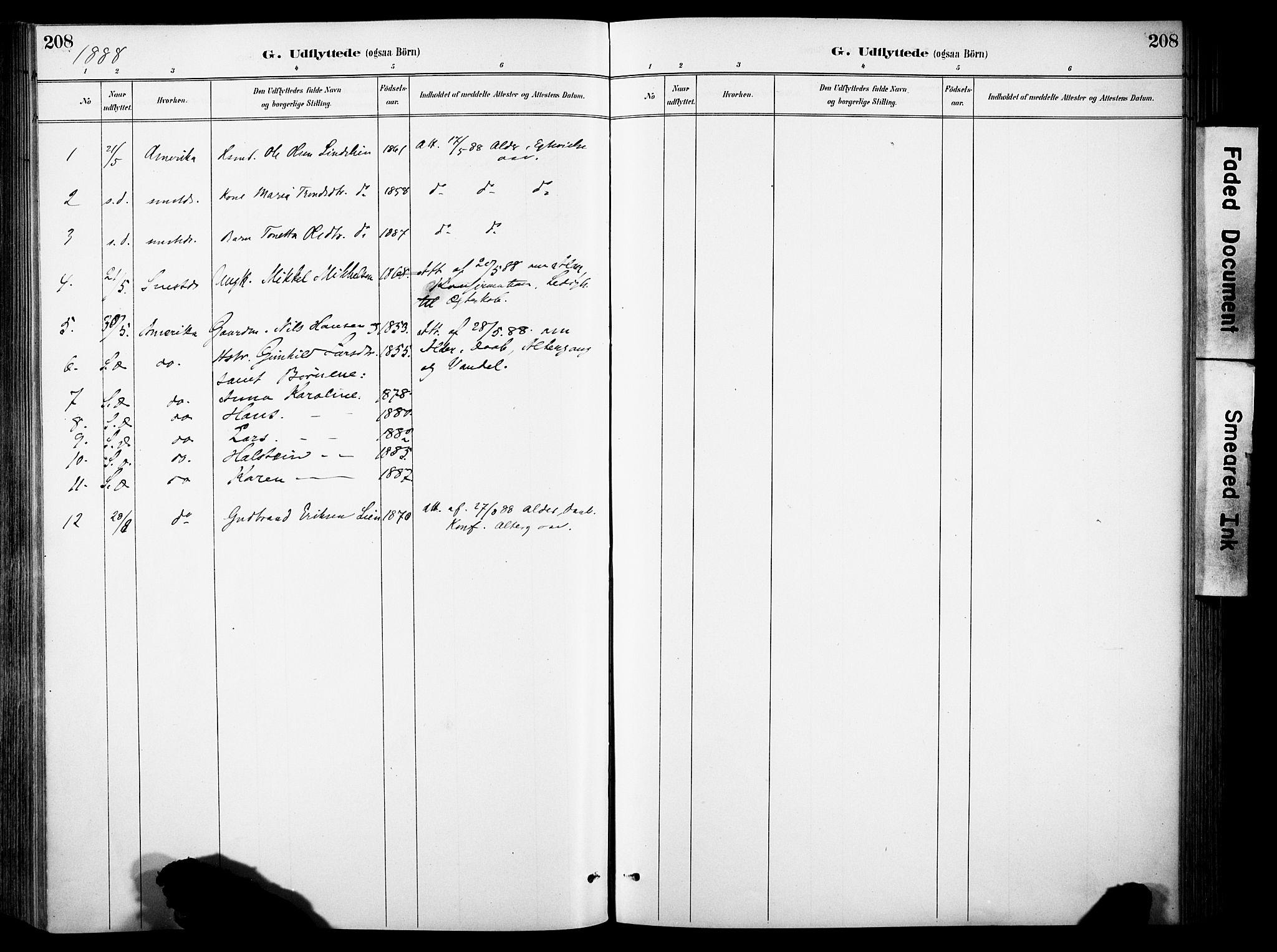 SAH, Sør-Aurdal prestekontor, Ministerialbok nr. 9, 1886-1906, s. 208