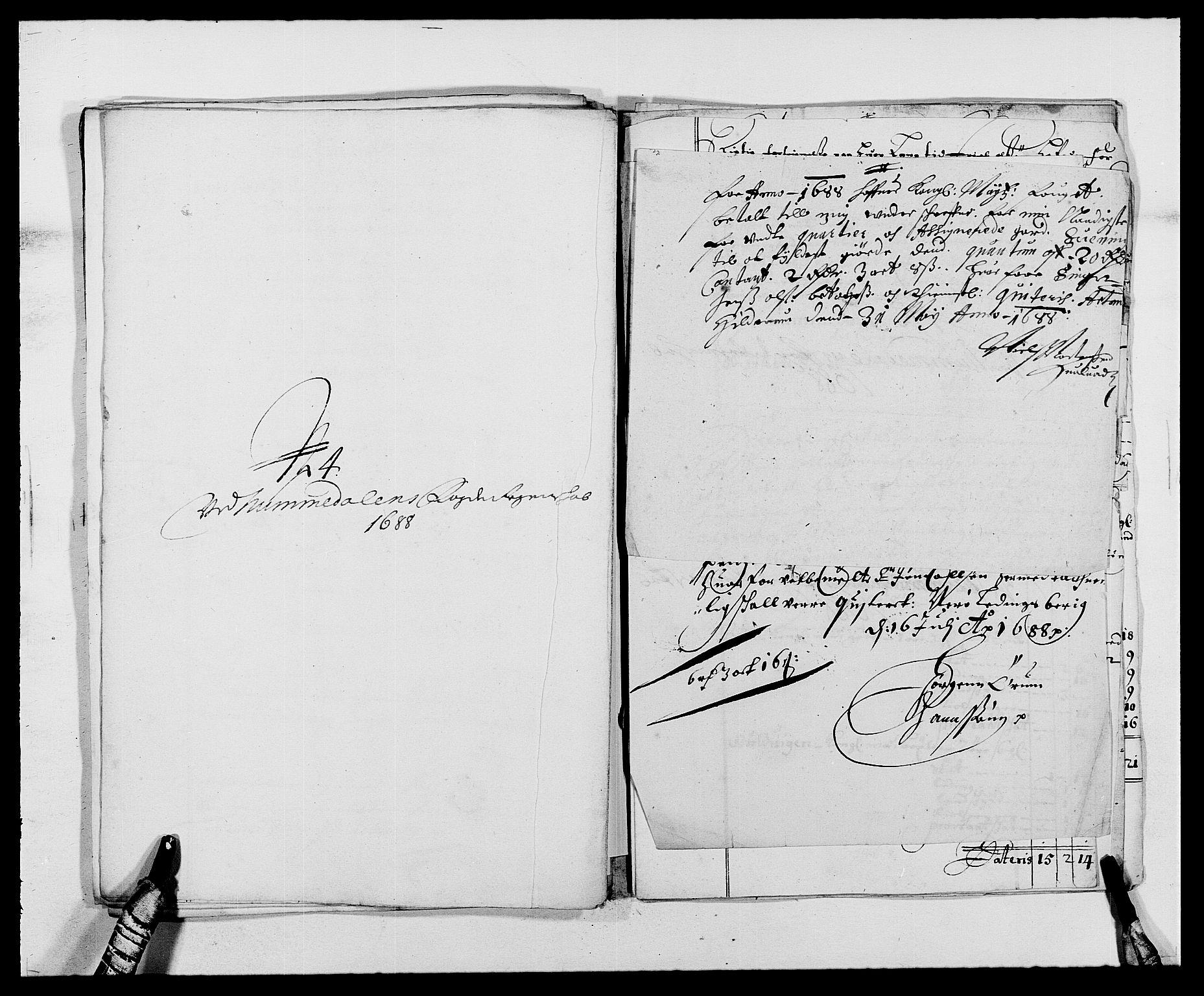 RA, Rentekammeret inntil 1814, Reviderte regnskaper, Fogderegnskap, R64/L4422: Fogderegnskap Namdal, 1687-1689, s. 186