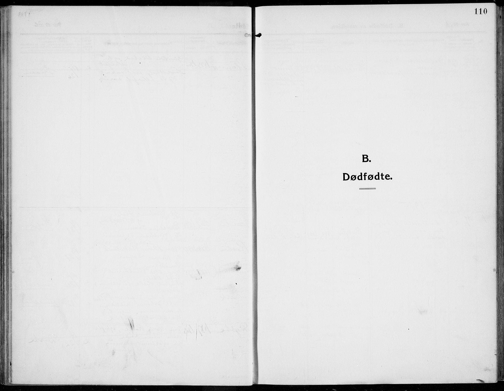 SAH, Kolbu prestekontor, Ministerialbok nr. 2, 1912-1926, s. 110