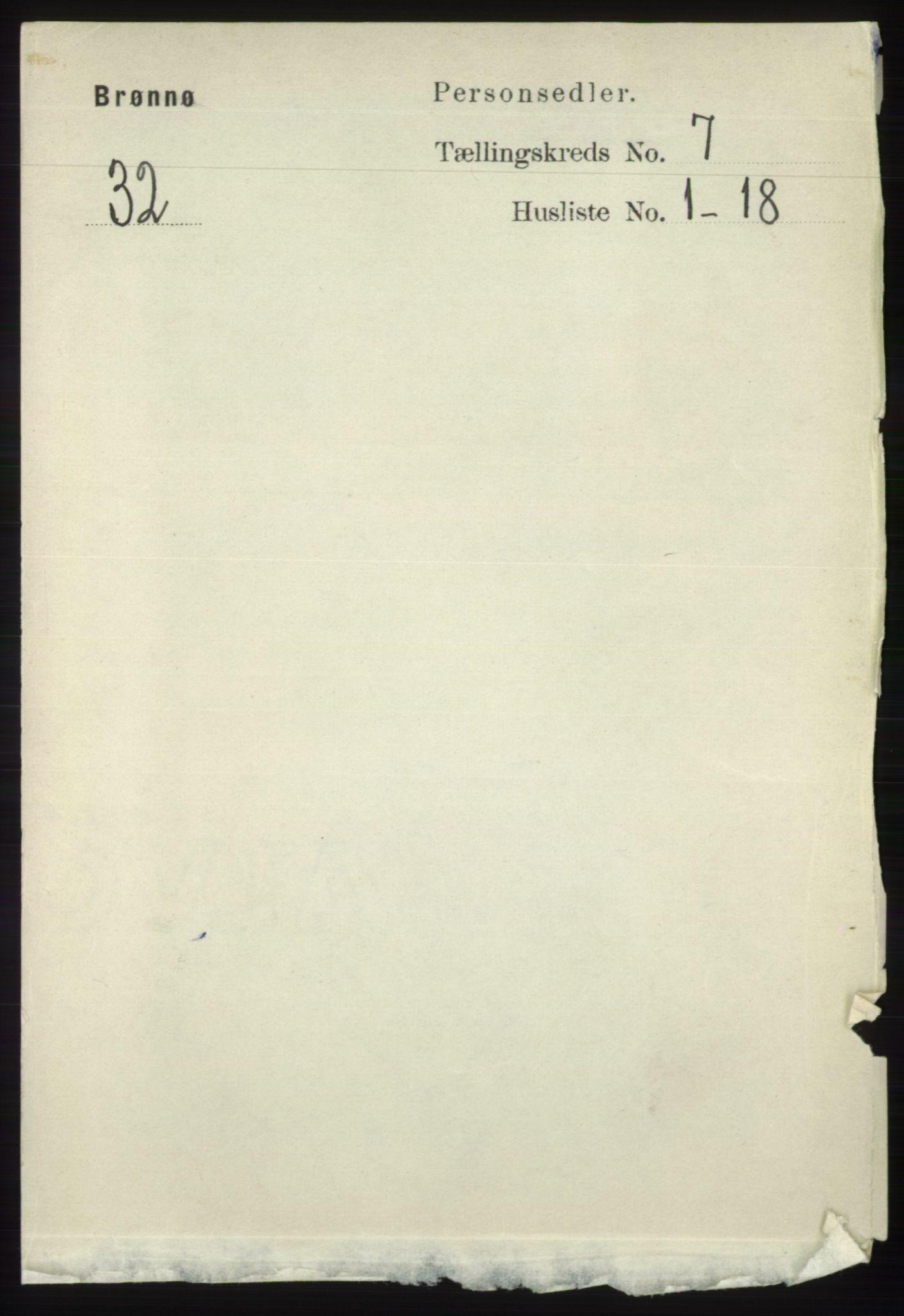 RA, Folketelling 1891 for 1814 Brønnøy herred, 1891, s. 3750