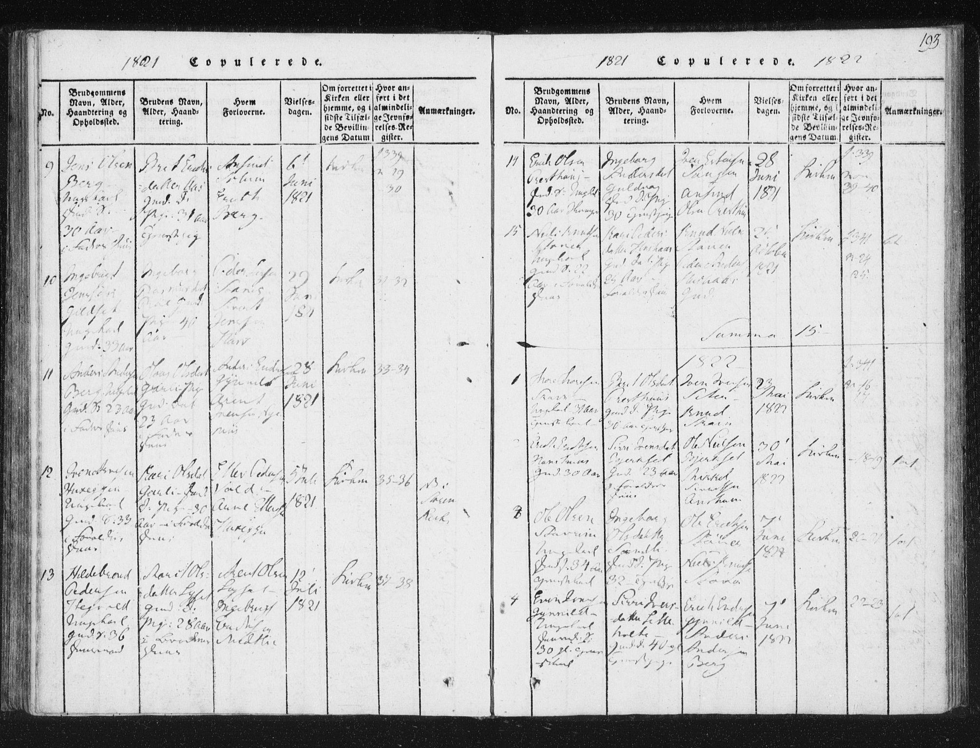 SAT, Ministerialprotokoller, klokkerbøker og fødselsregistre - Sør-Trøndelag, 689/L1037: Ministerialbok nr. 689A02, 1816-1842, s. 193