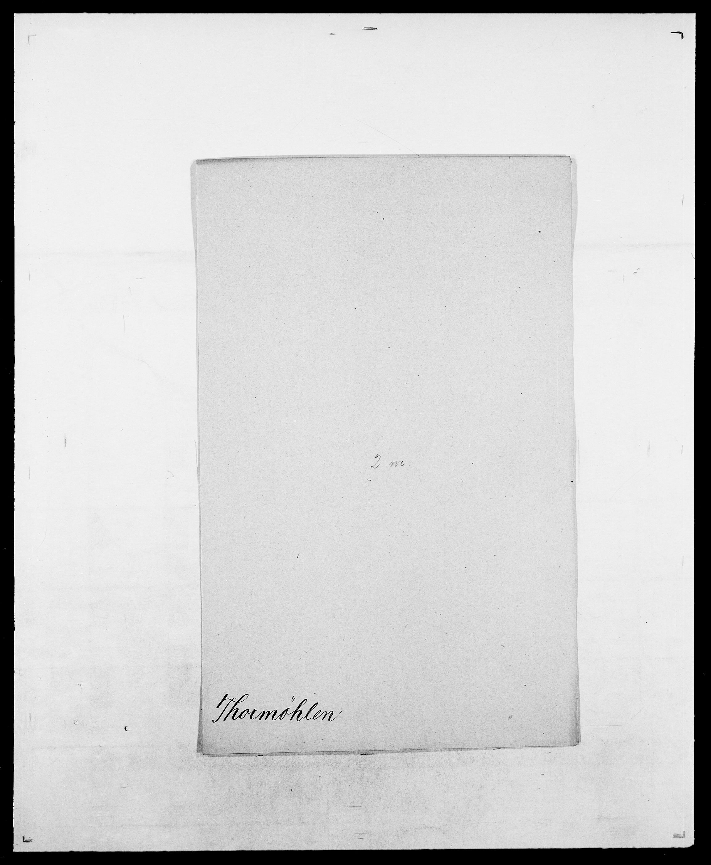 SAO, Delgobe, Charles Antoine - samling, D/Da/L0038: Svanenskjold - Thornsohn, s. 878