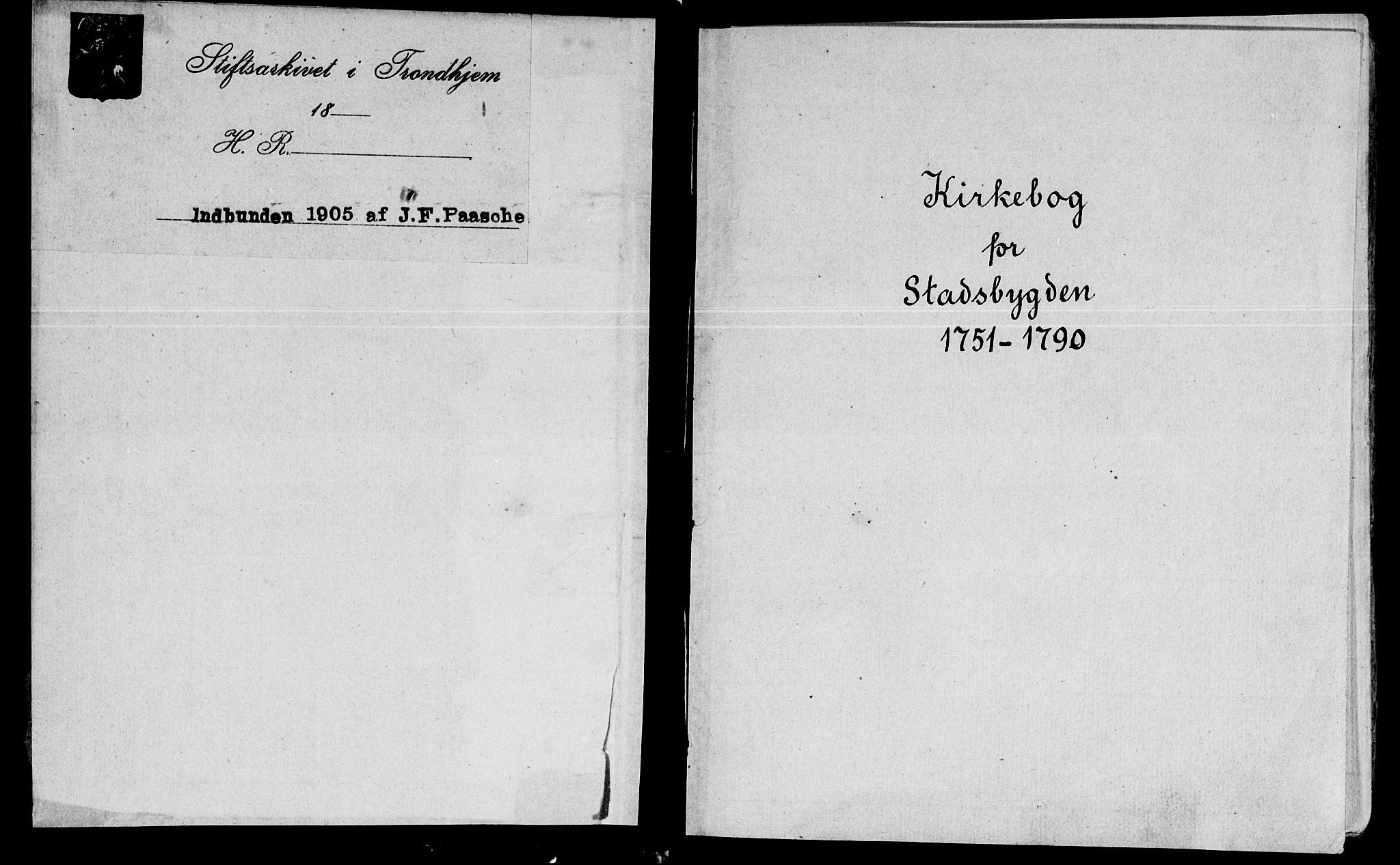 SAT, Ministerialprotokoller, klokkerbøker og fødselsregistre - Sør-Trøndelag, 646/L0605: Ministerialbok nr. 646A03, 1751-1790