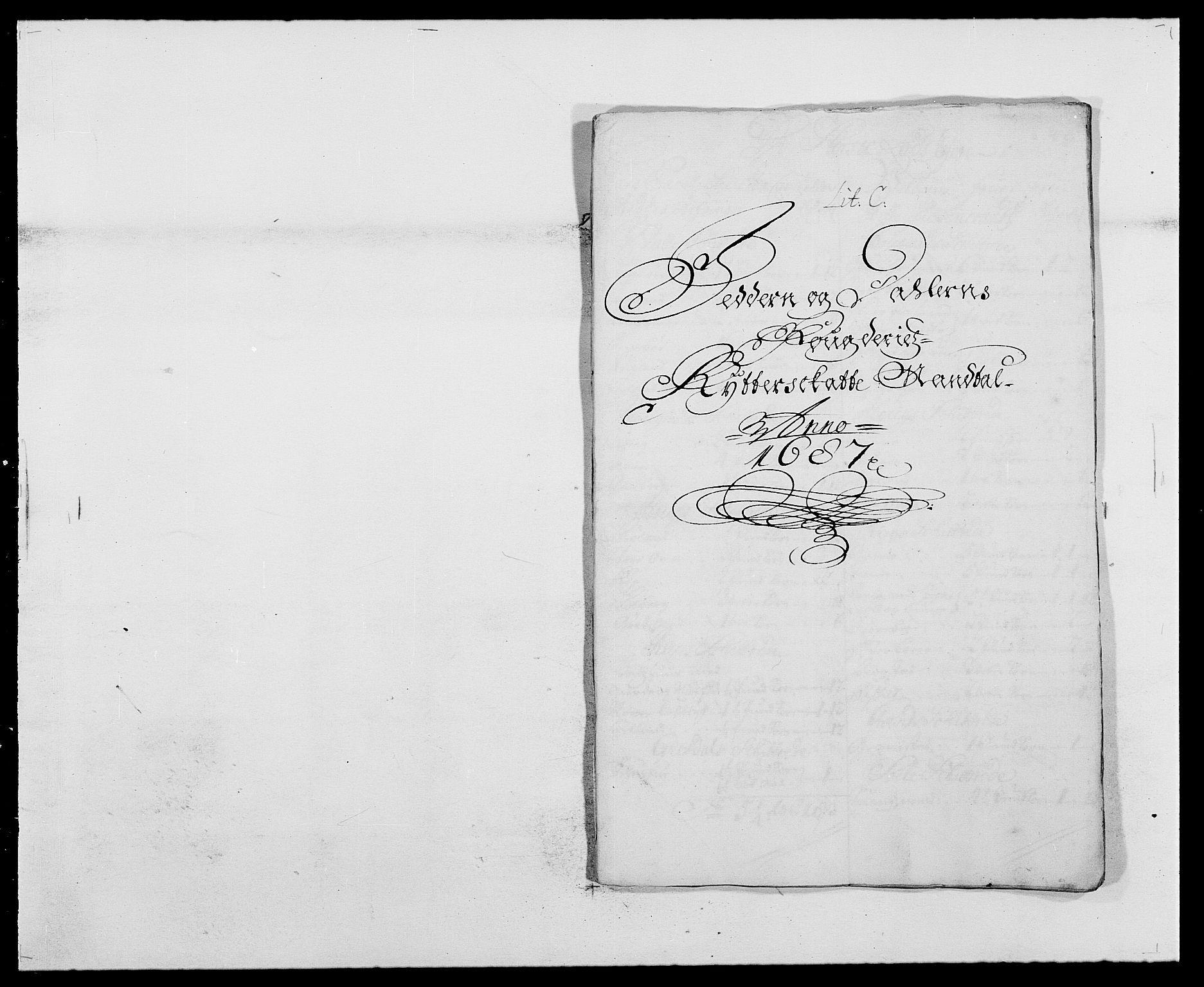 RA, Rentekammeret inntil 1814, Reviderte regnskaper, Fogderegnskap, R46/L2726: Fogderegnskap Jæren og Dalane, 1686-1689, s. 163